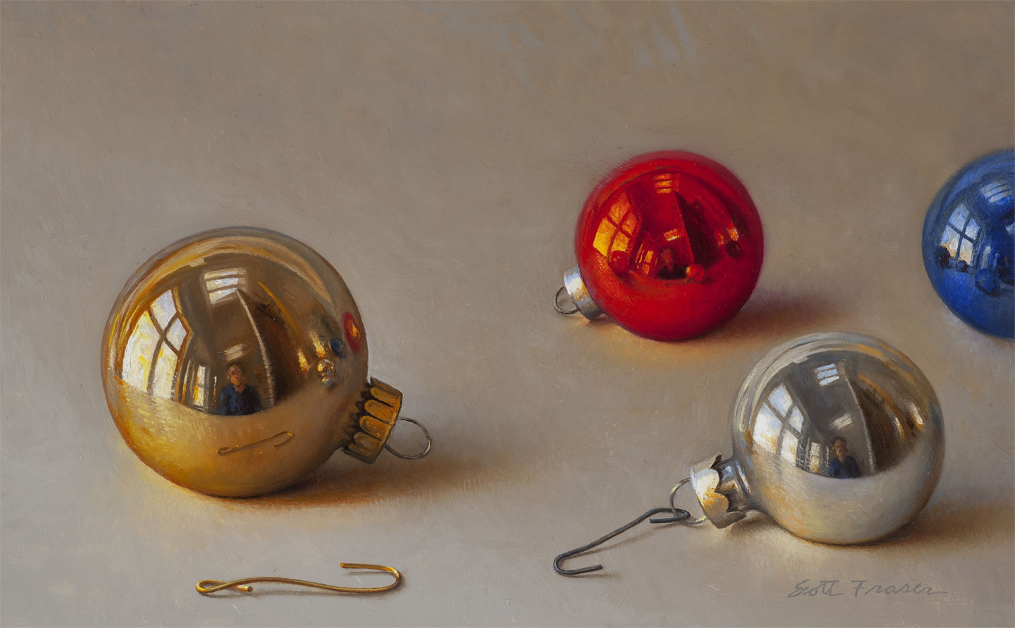 Four Ornaments by Scott Fraser