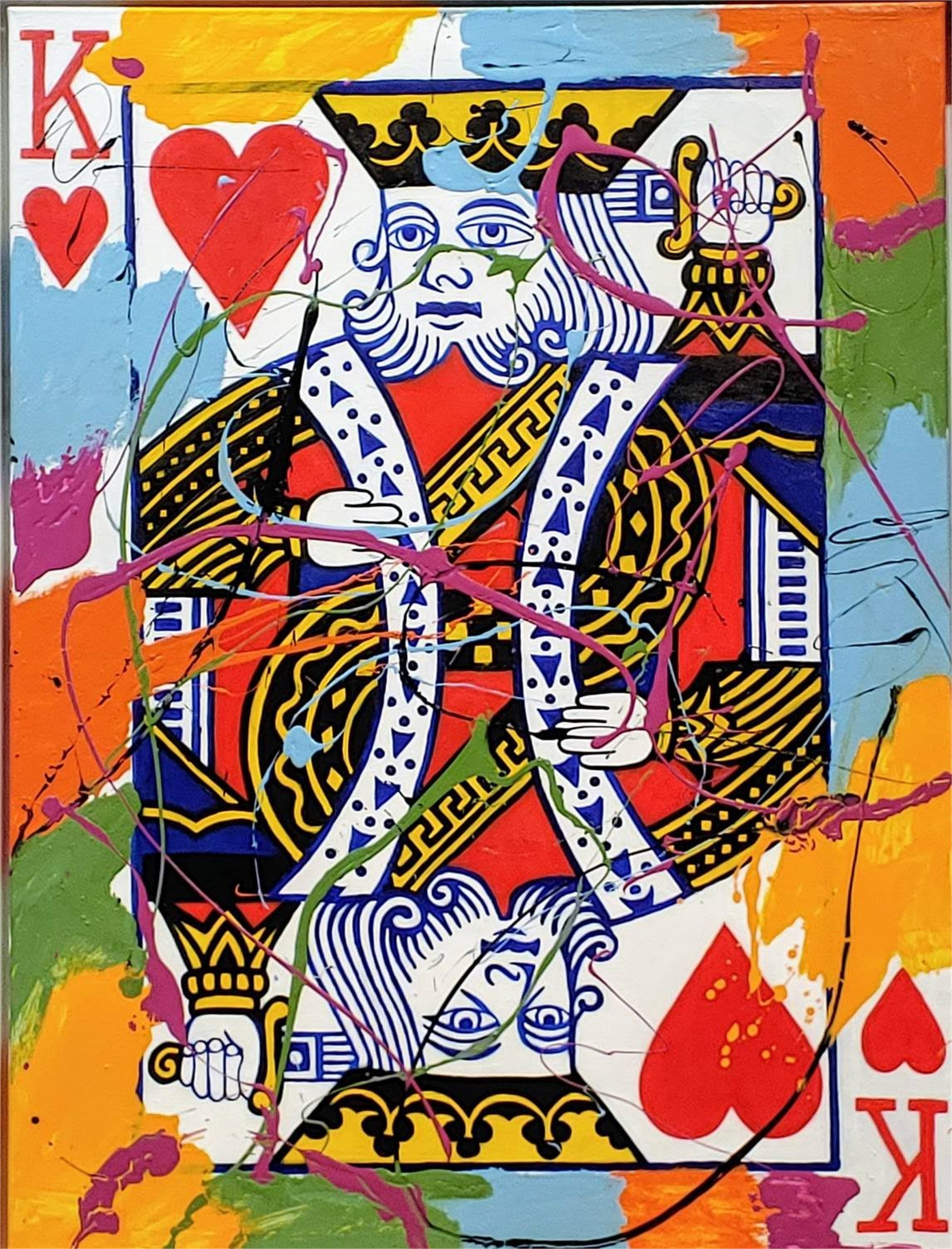"""Poker Cards Splash Series"" by Elena Bulatova"
