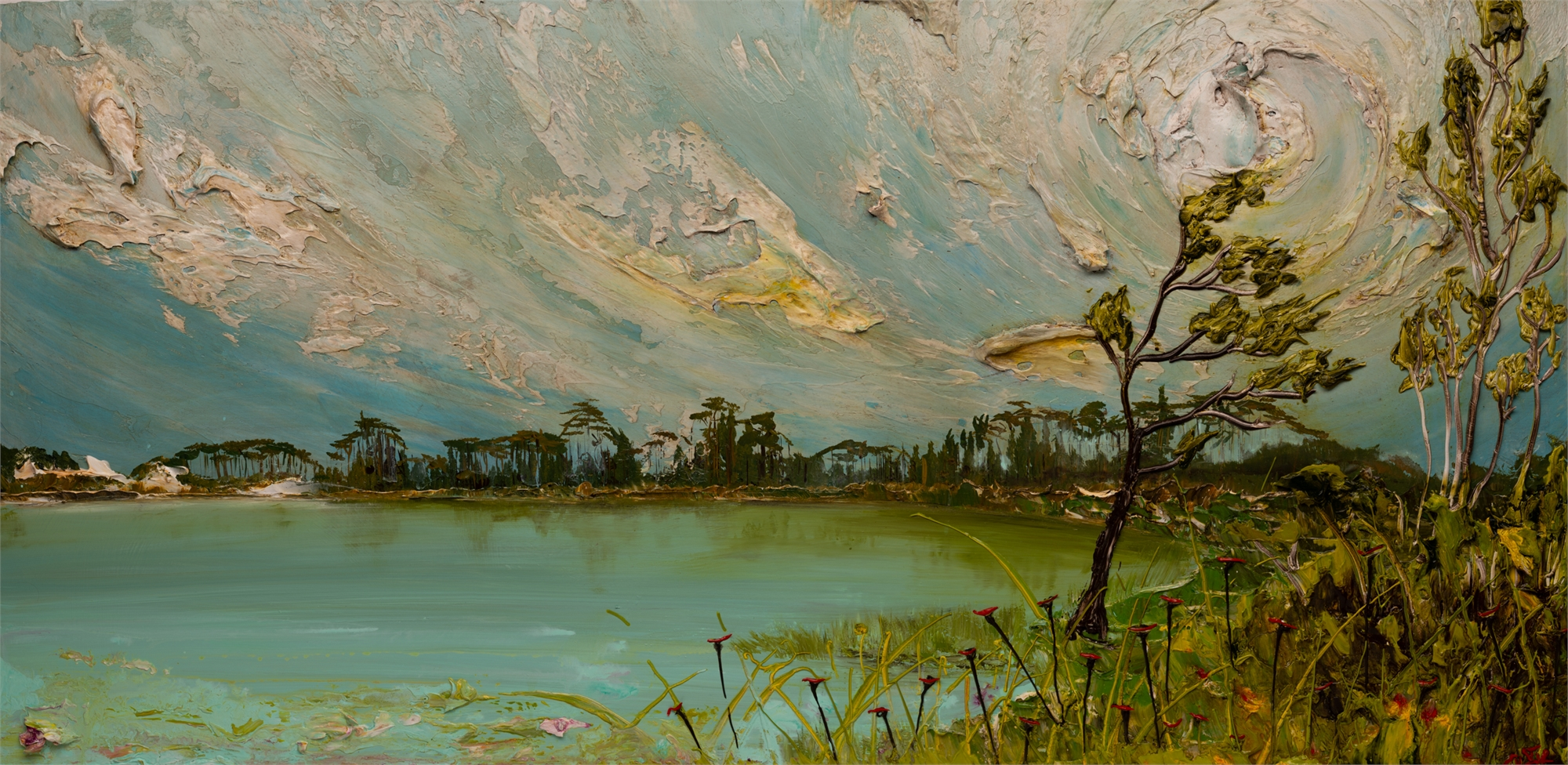 LAKESCAPE LS-60x30-2019-335 by JUSTIN GAFFREY