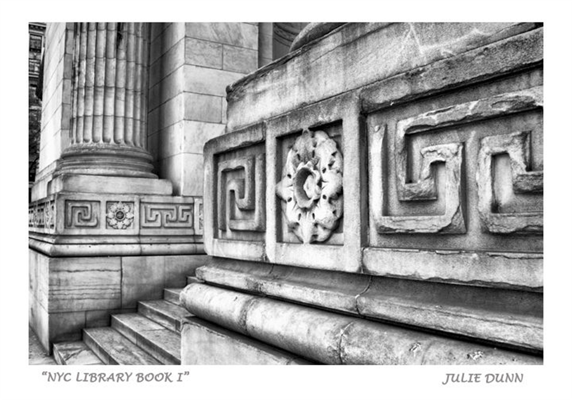 NYC Library Book I by Julie Dunn