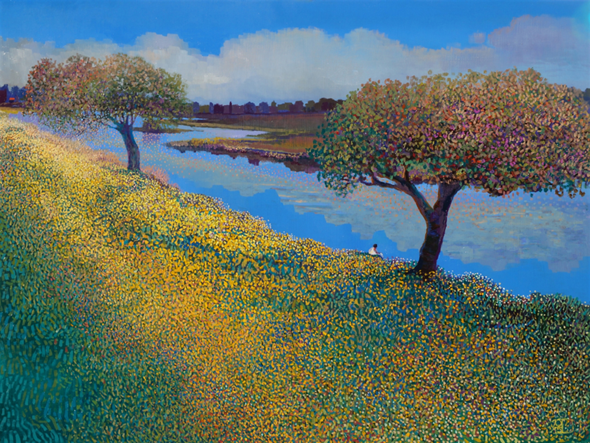 Down by the River by Ton Dubbeldam