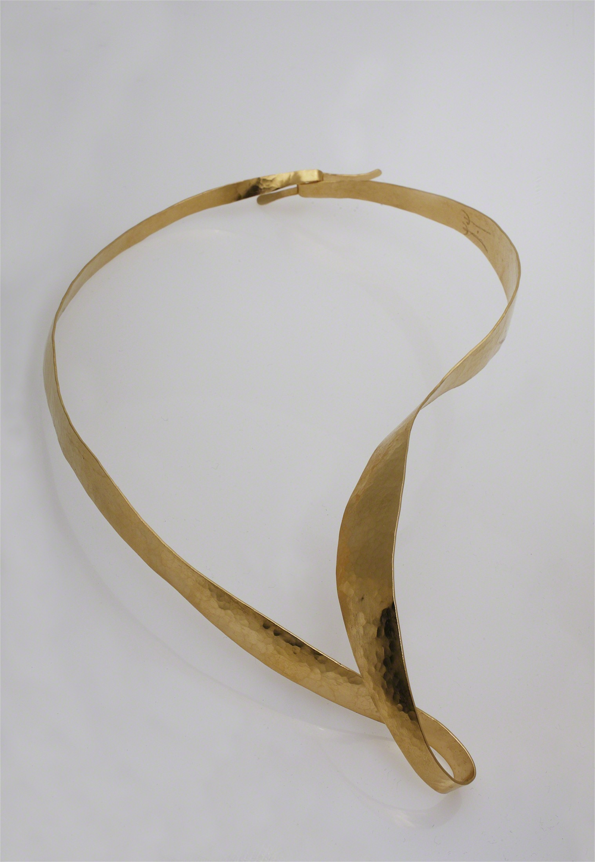 """Omega"" Necklace by Jacques Jarrige"
