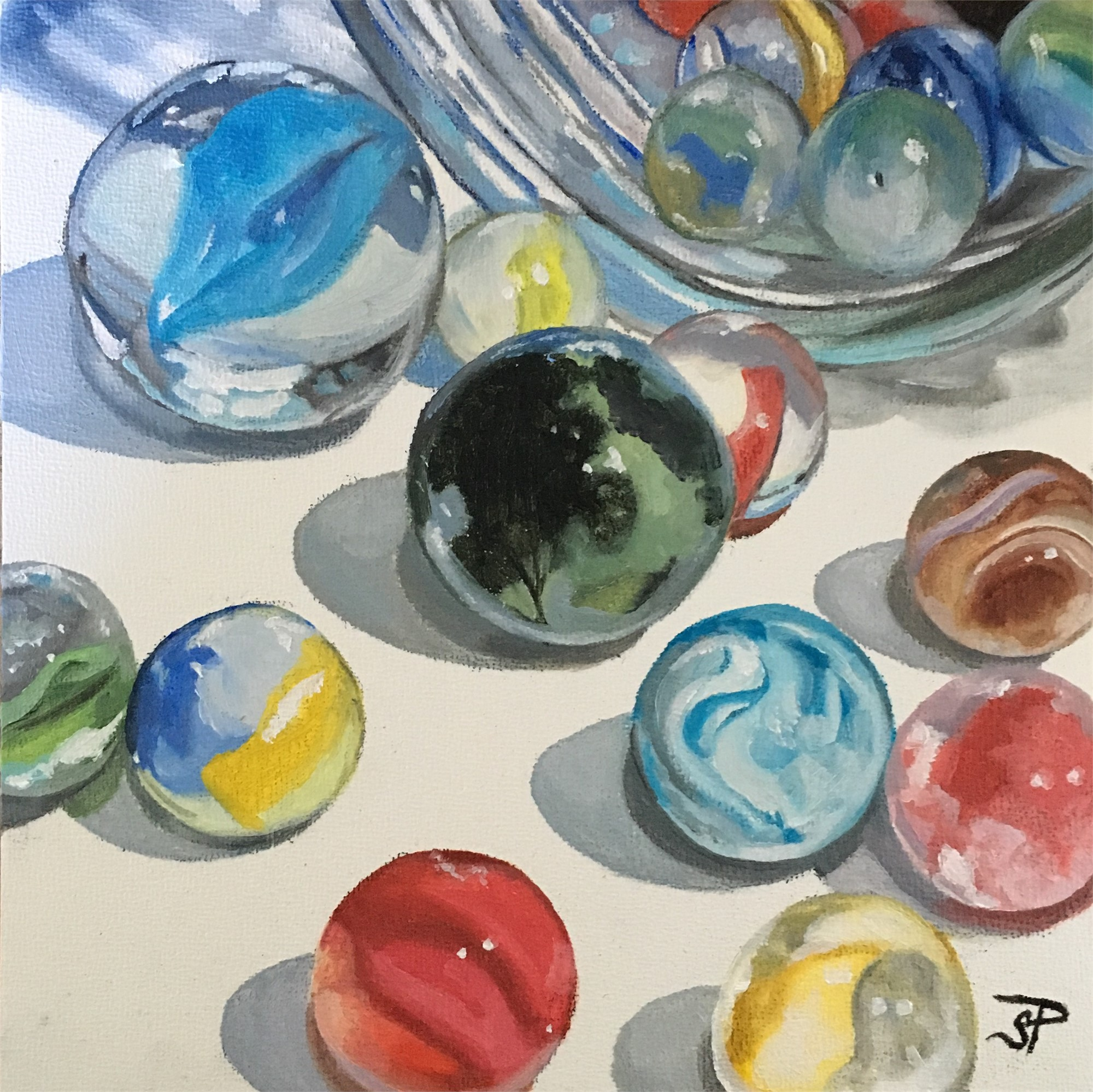Losing My Marbles by Sharon Pomales