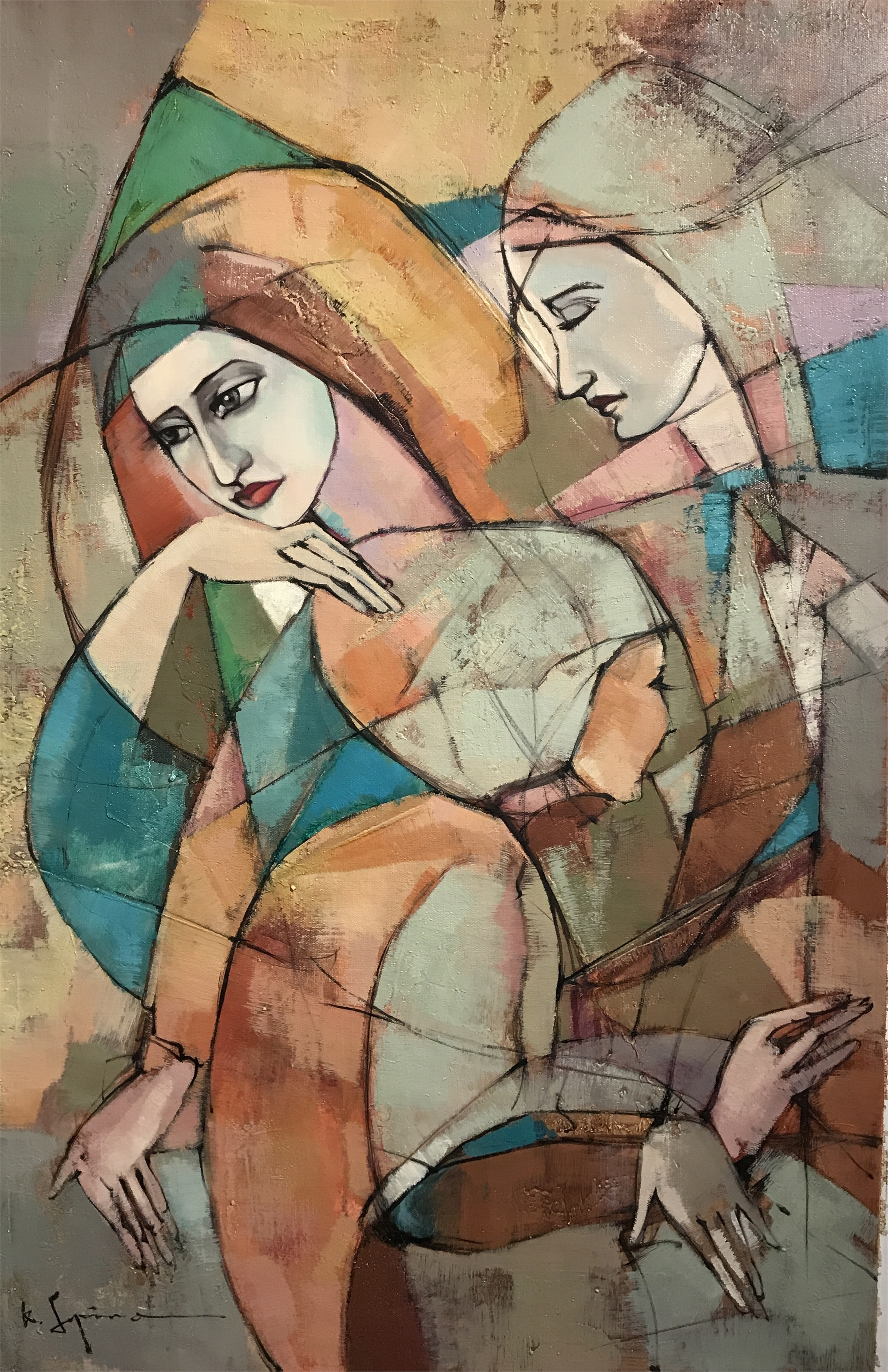 THREE LADIES by K. SOPINO