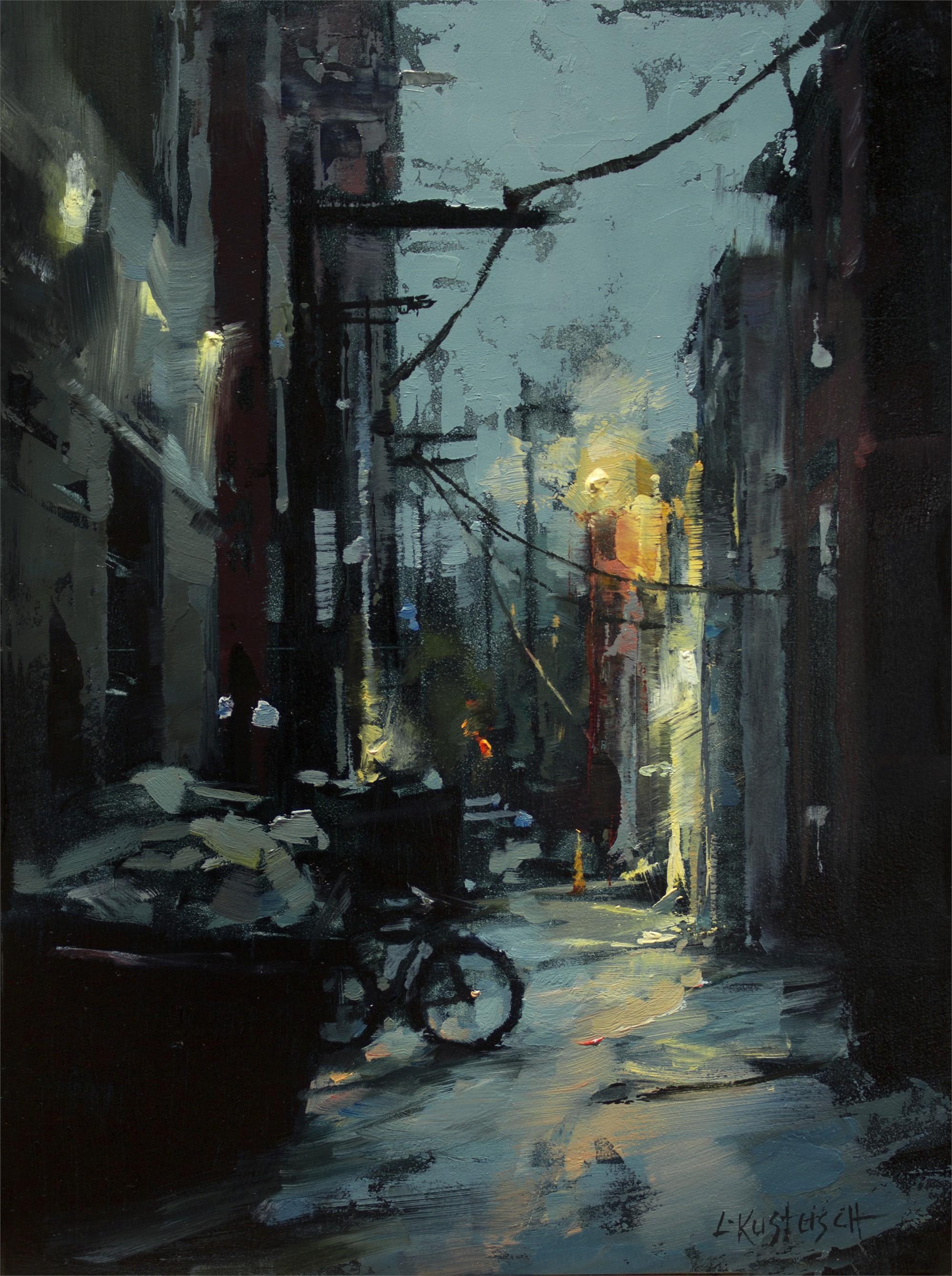 A Walk in the Rain by Lindsey Kustusch