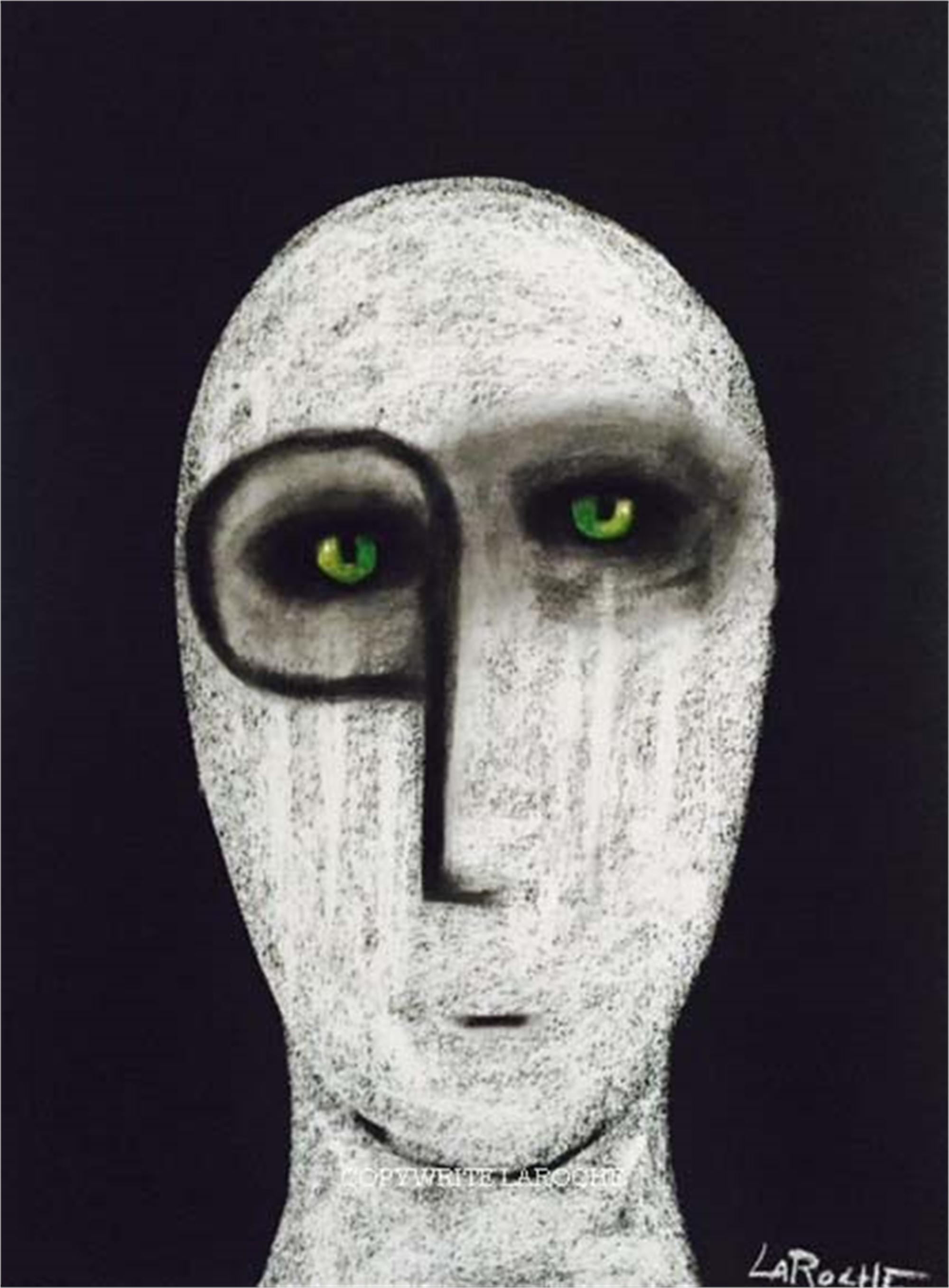 WHITE SHAMAN #8 by Carole LaRoche