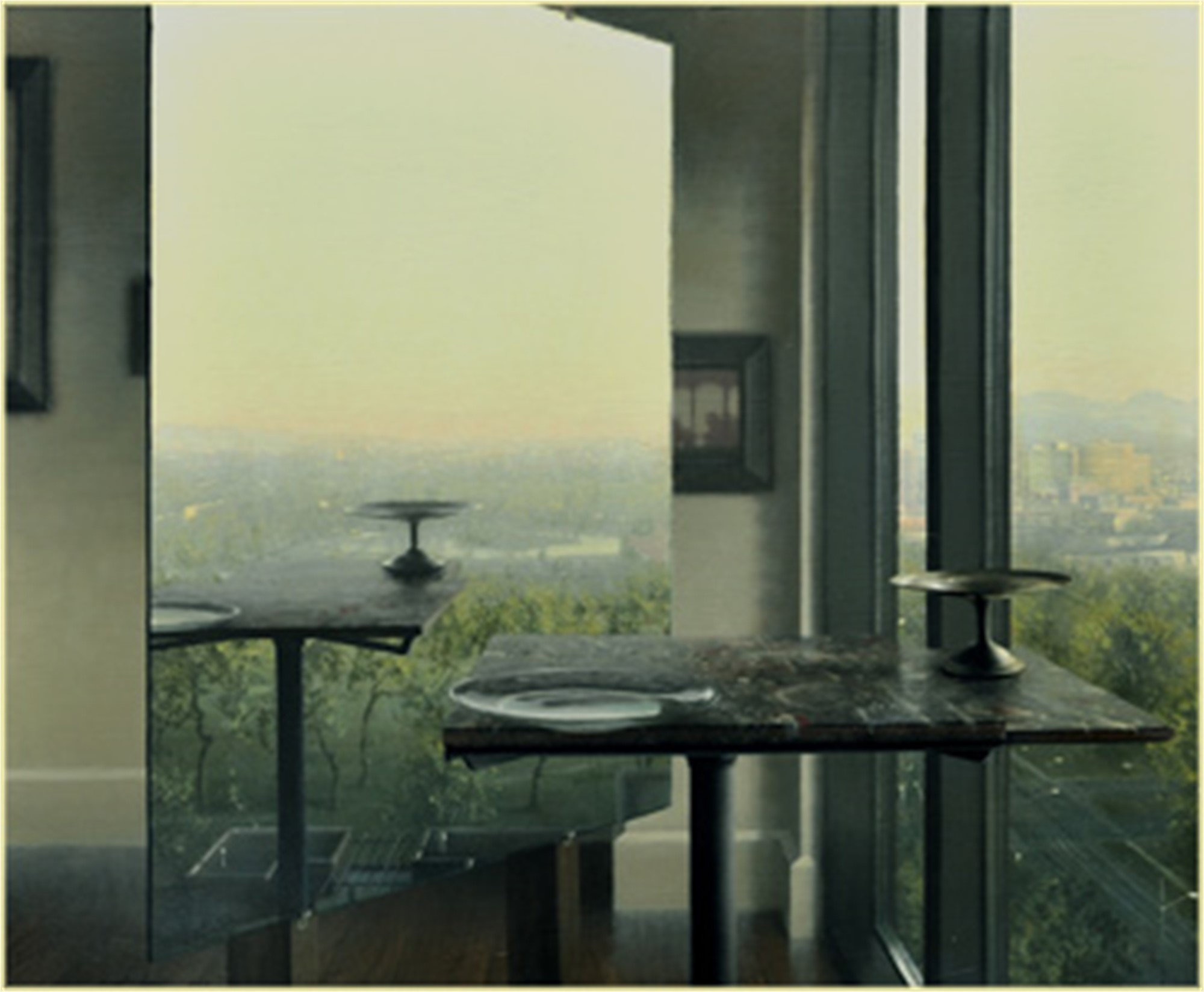 Studio with View of the City by Daniel Sprick