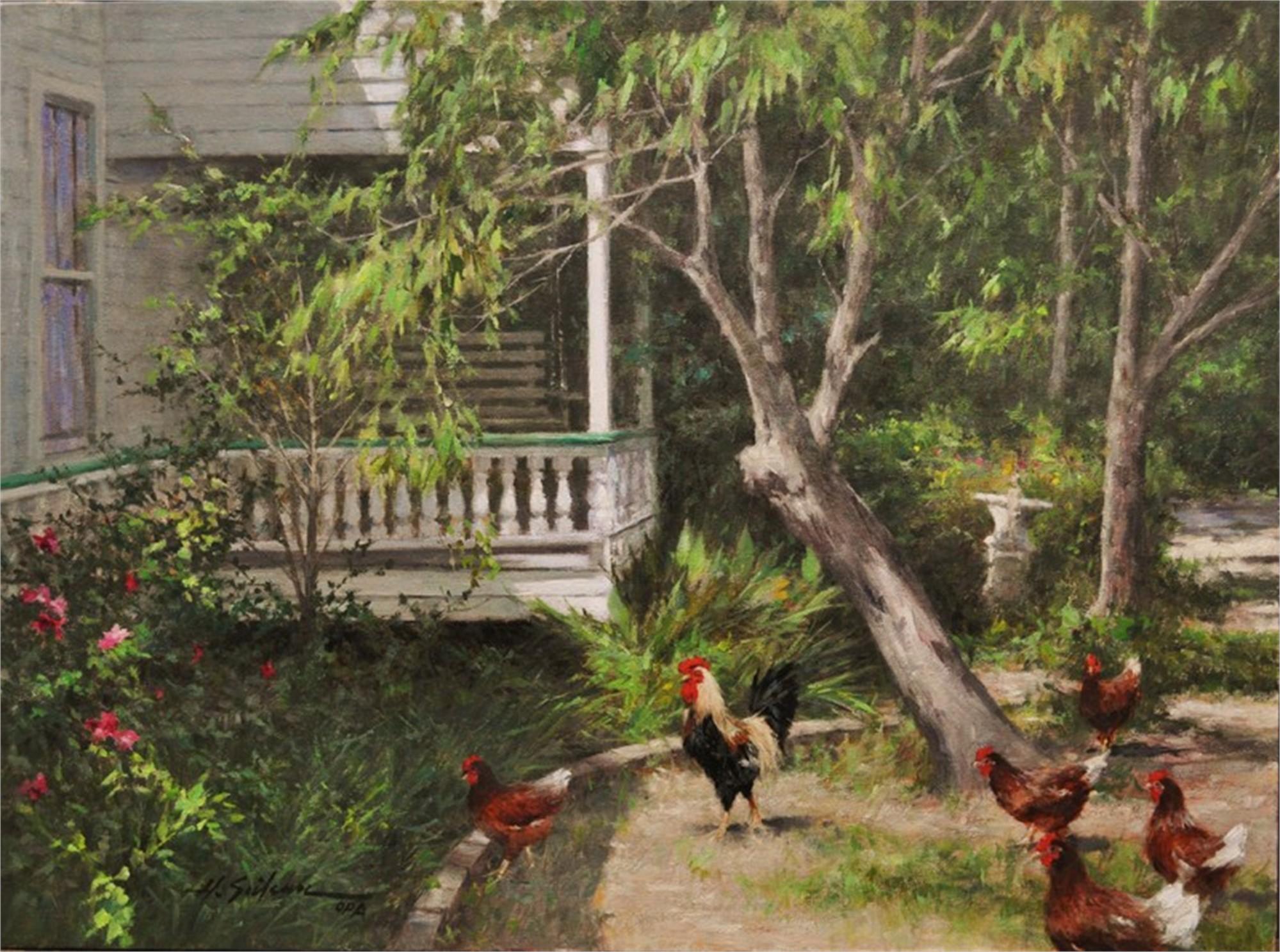The Garden Groomers   Palm Avenue Fine Art