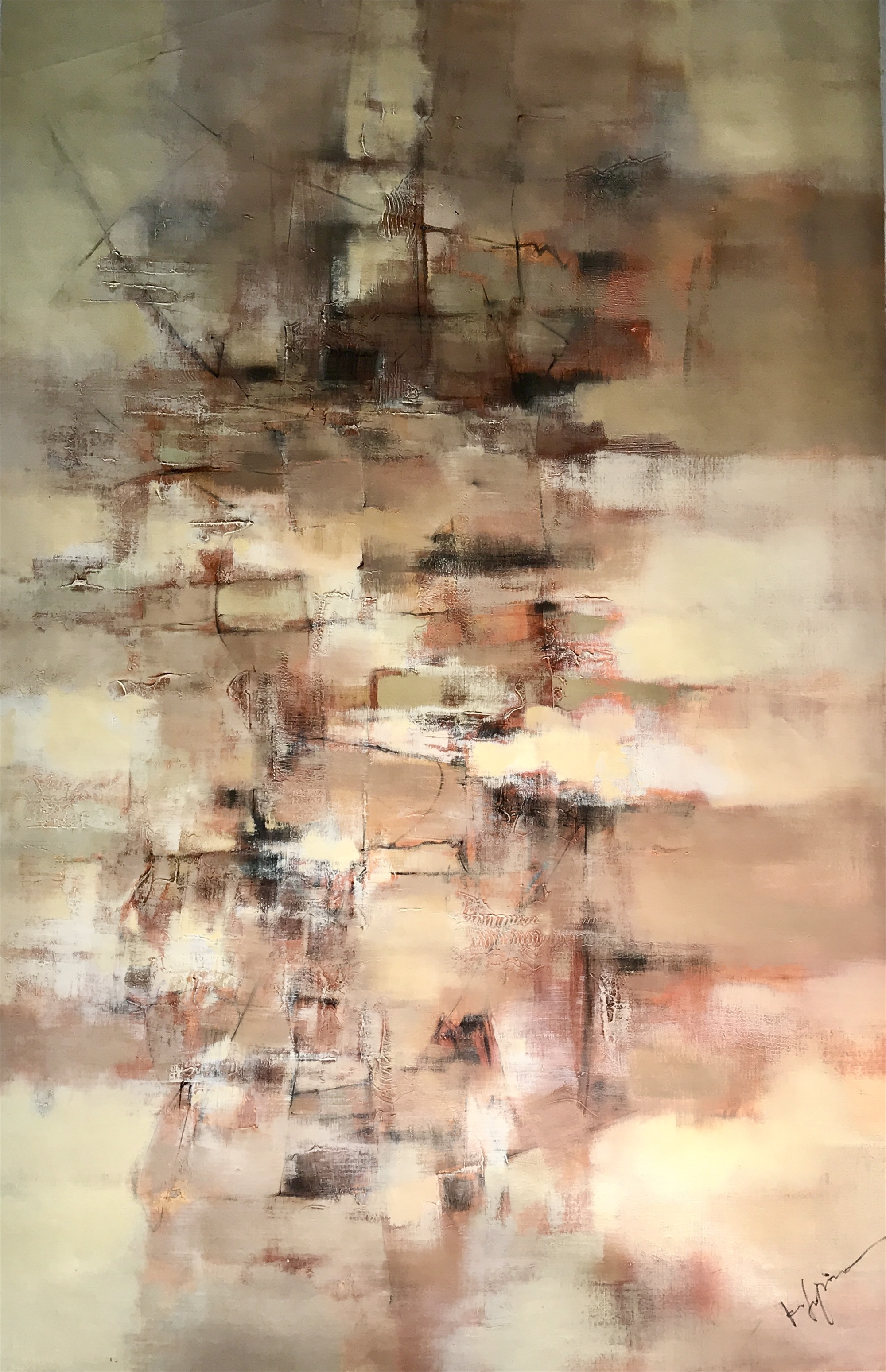 ABSTRACT BROWNS by K. SOPINO