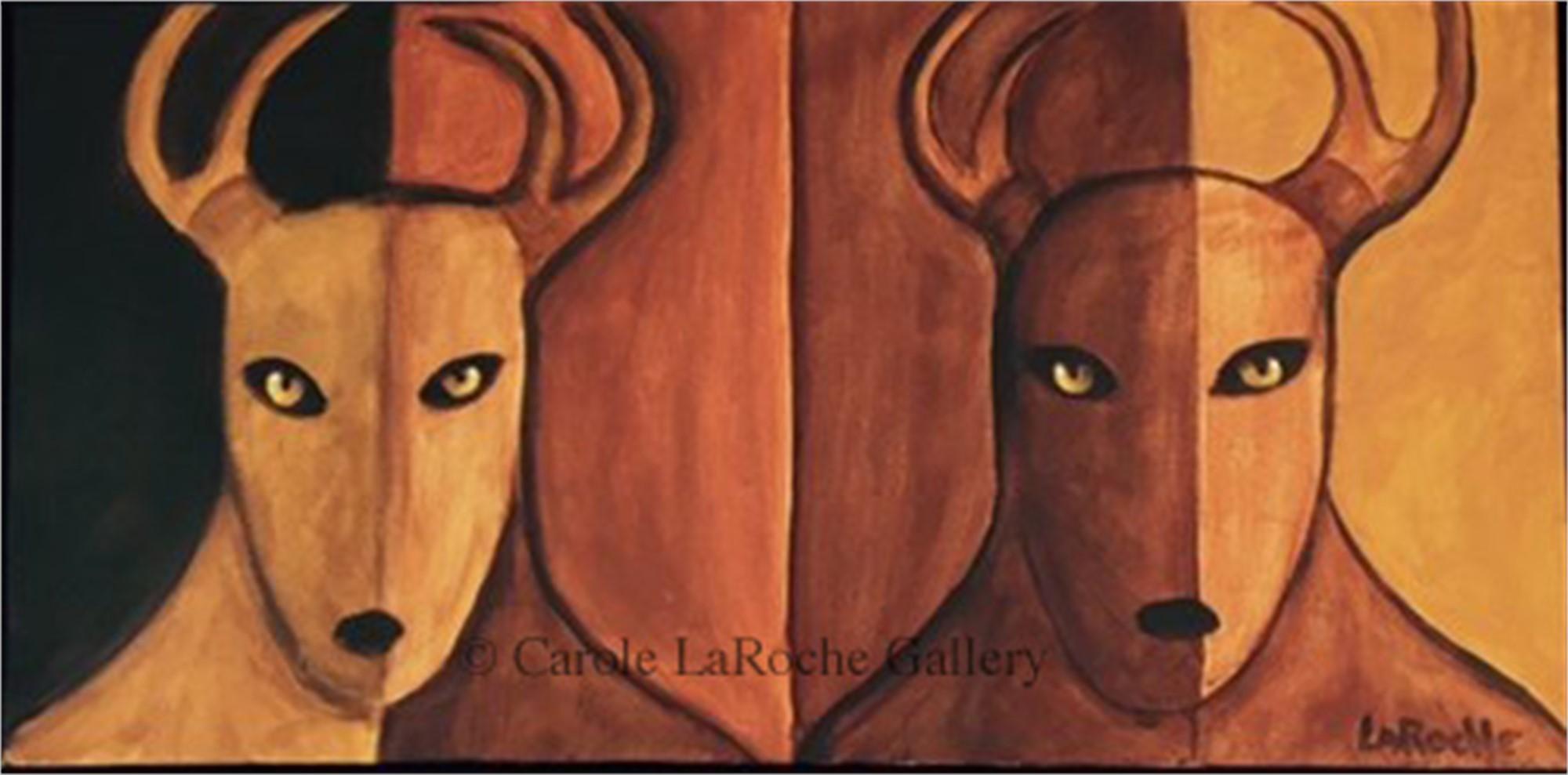 SHADOW DEER by Carole LaRoche
