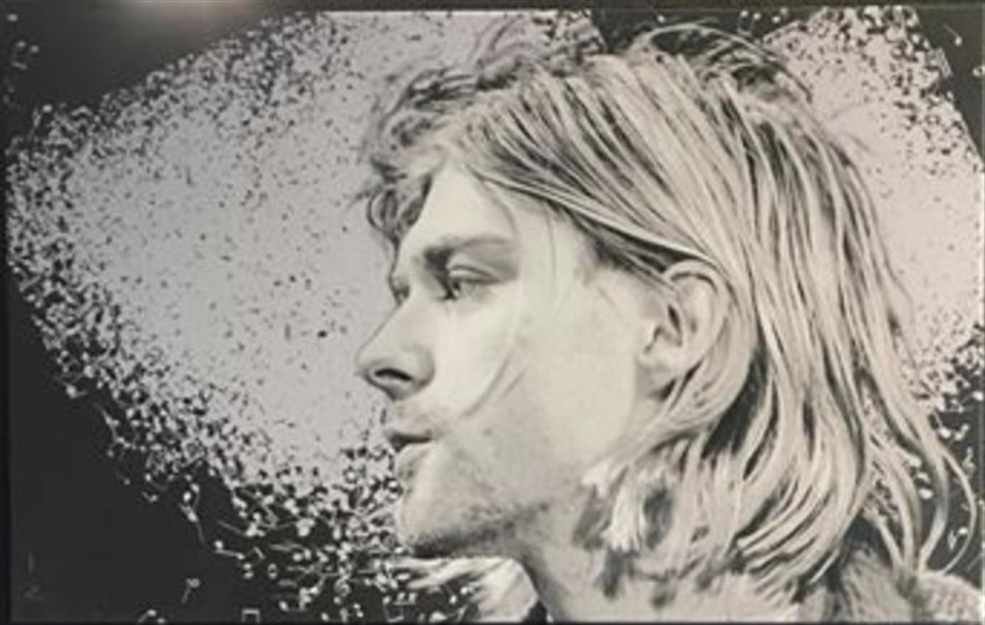 Let the Music Play Series: Kurt Cobain by Adam Scott Rote