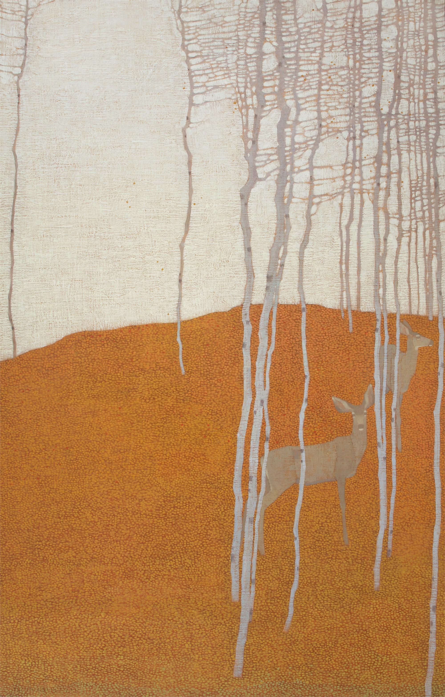 On Fallen Autumn Leaves by David Grossmann