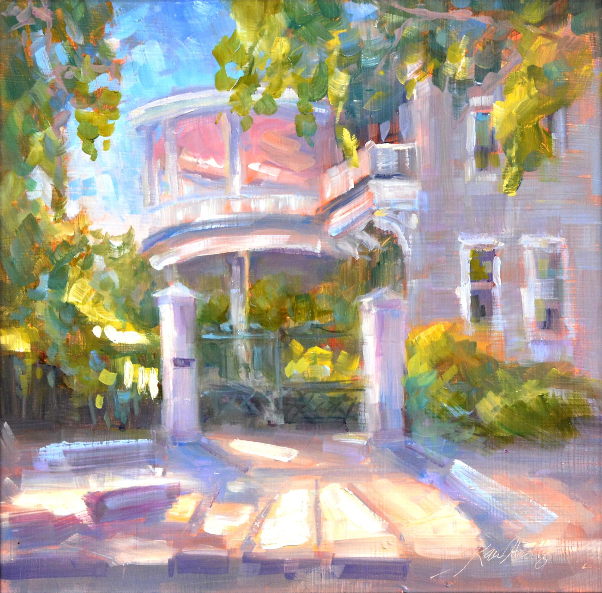 Charleston Stroll by Karen Hewitt Hagan