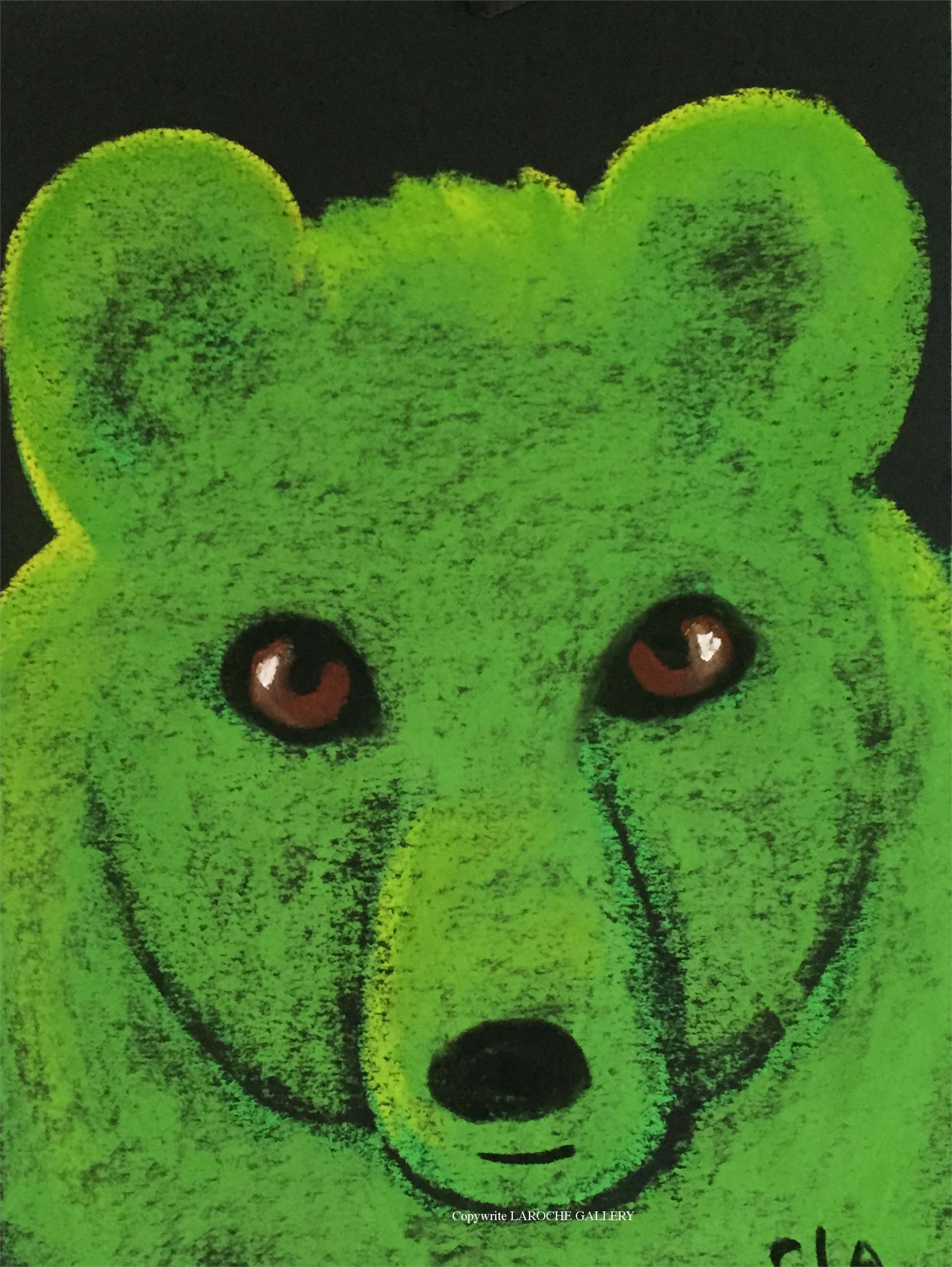 GREEN BEAR by Carole LaRoche