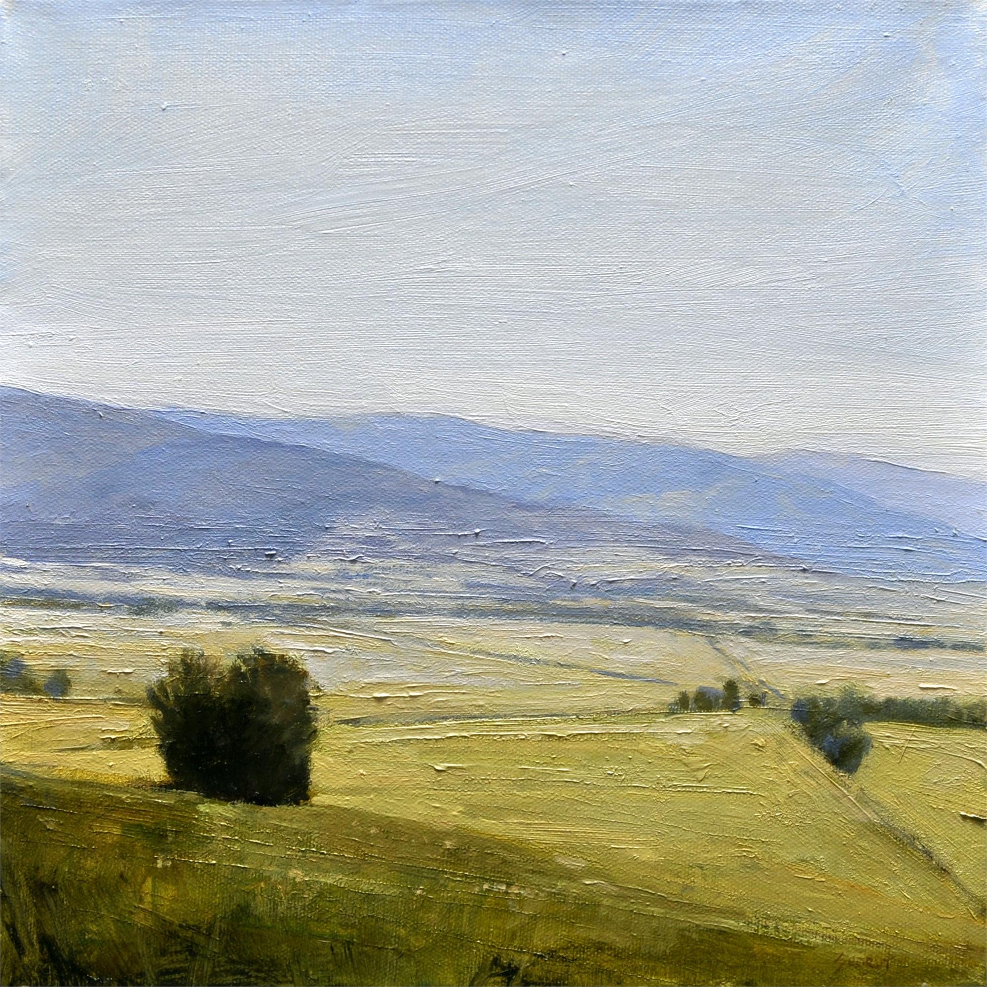 Green Landscape by Andrzej Skorut