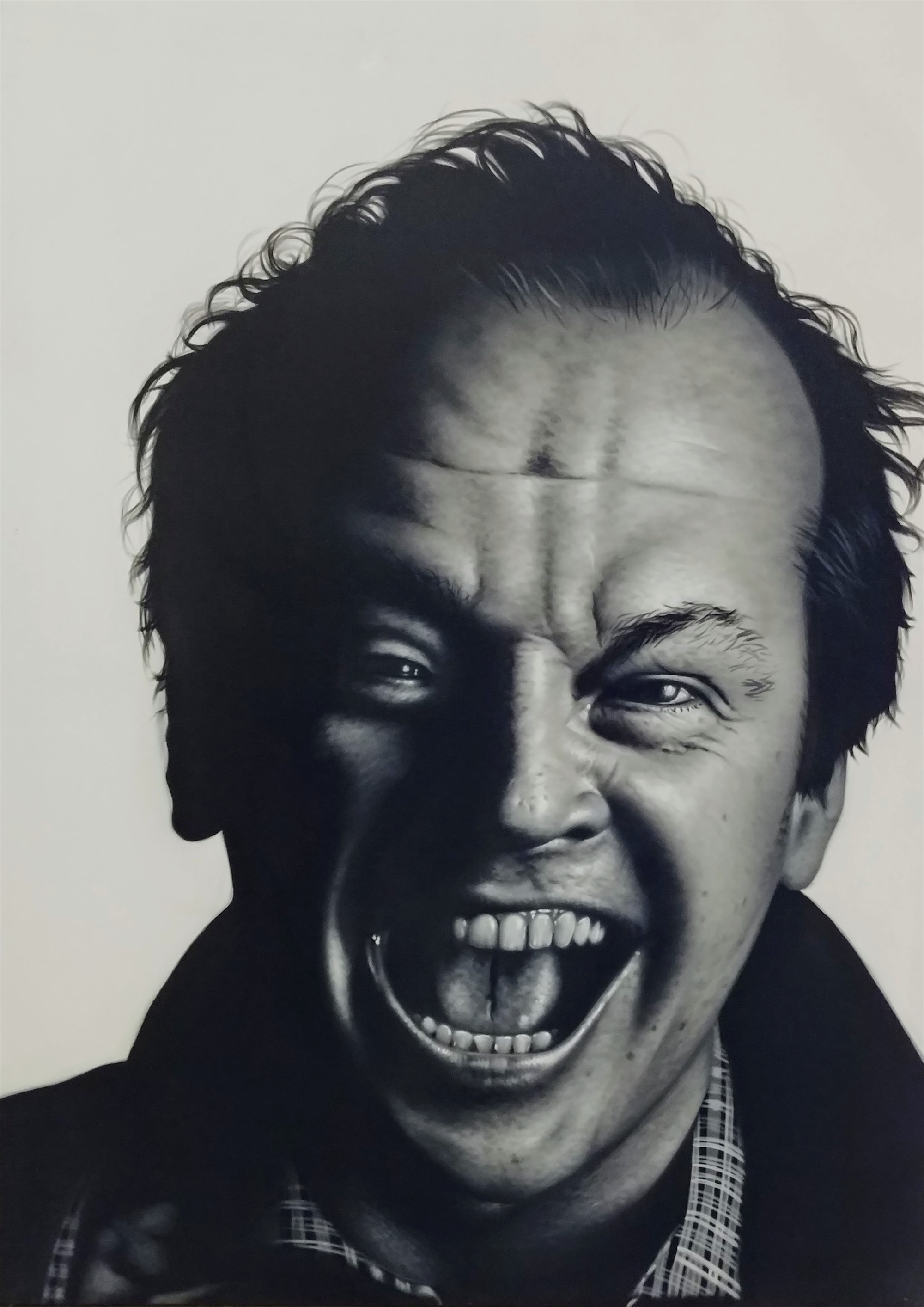 """Celebrity Series"" Jack Nicholson by Ismed Rizal"