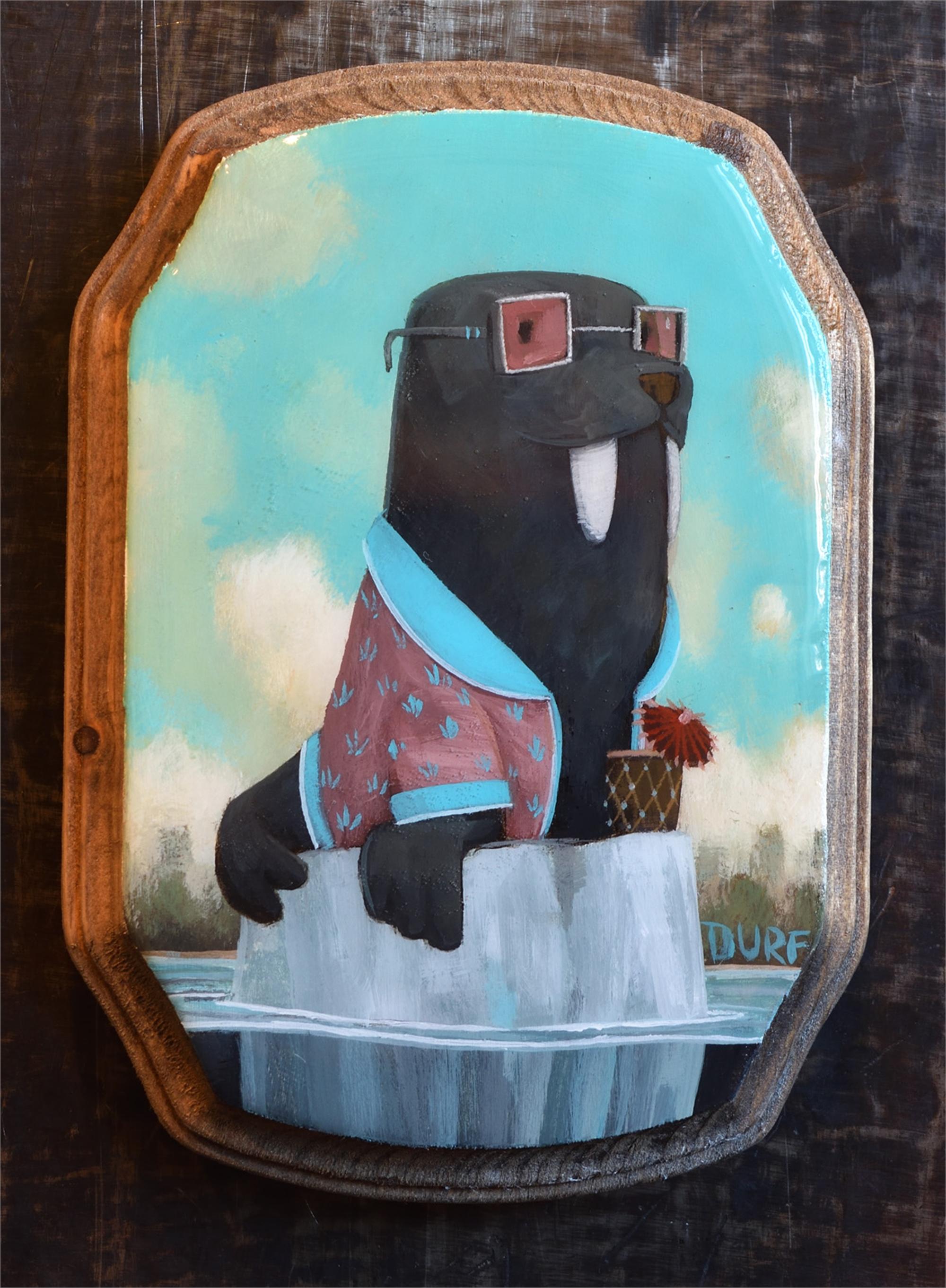 Walrus Clubbing by Nathan Durfee