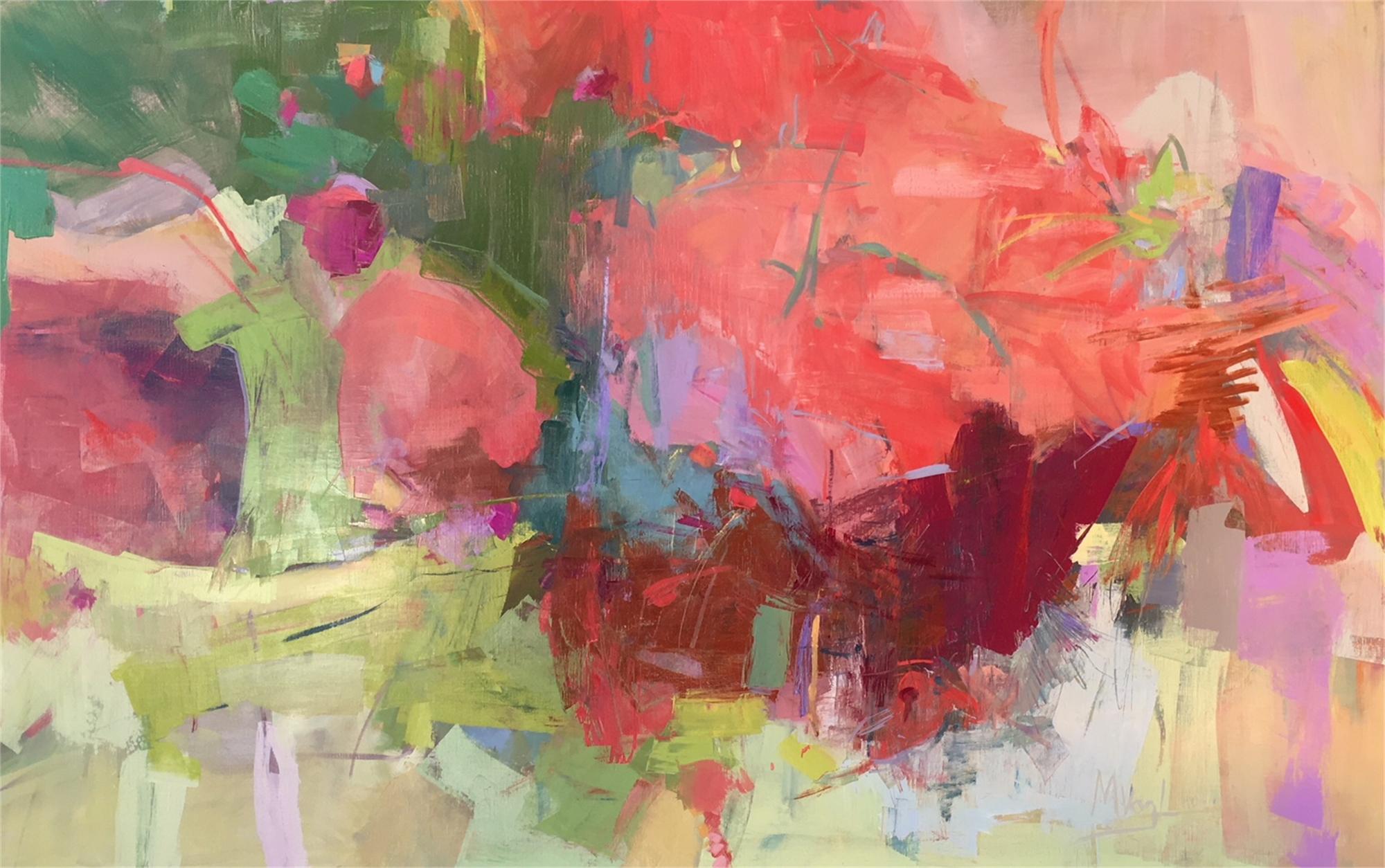 Scarlet Begonias by Marissa Vogl