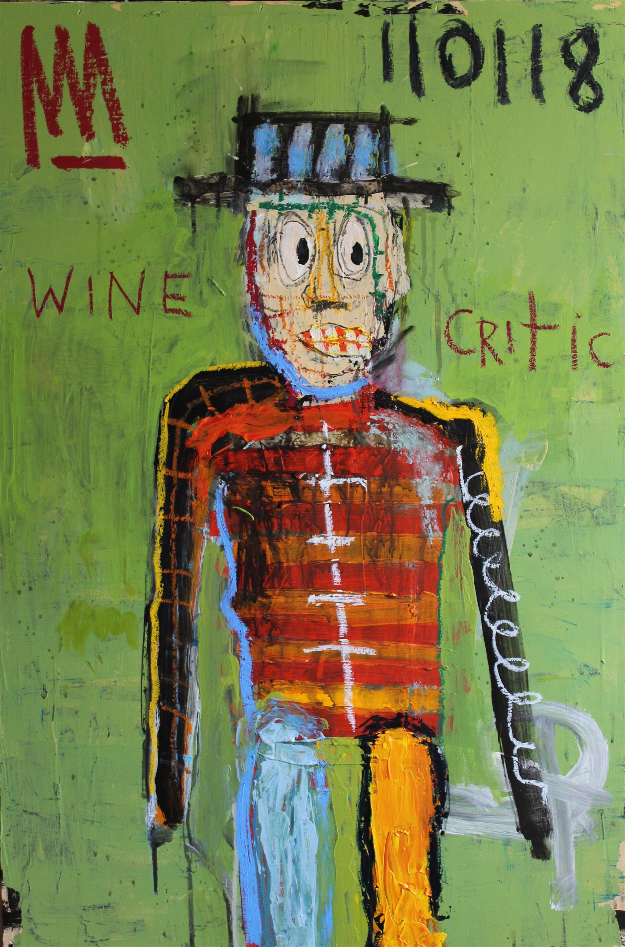 Wine Critic With Hangover by Michael Snodgrass