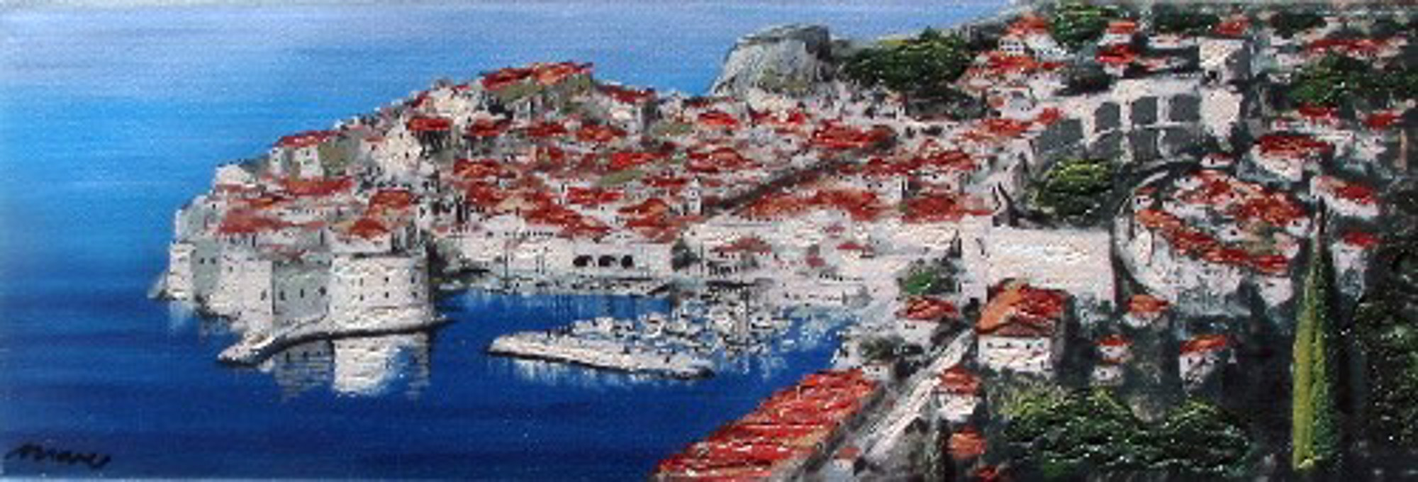 POSTCARD FROM DUBROVNIK by MARO