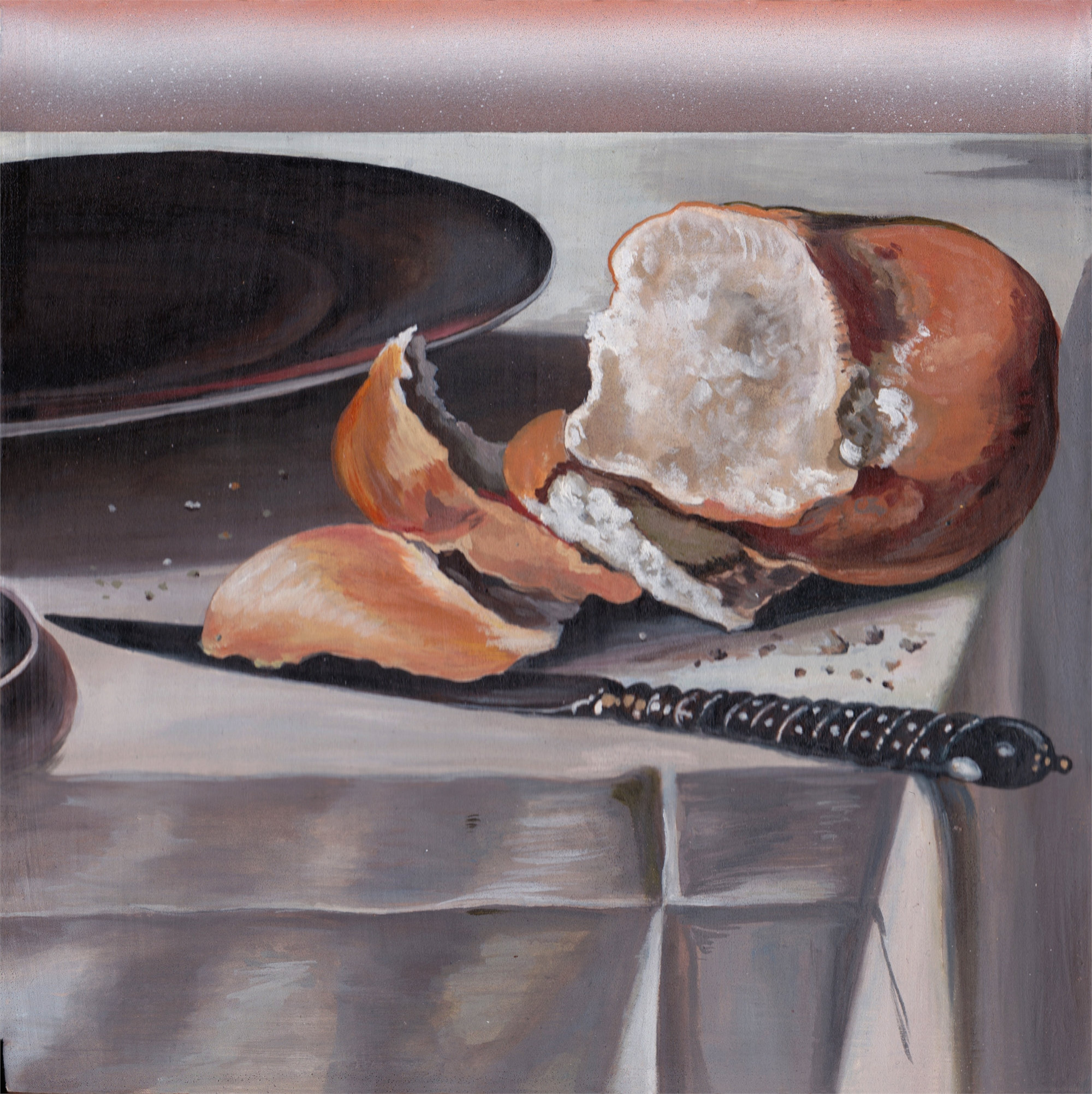 Man cannot live by bread alone by Melissa Furness