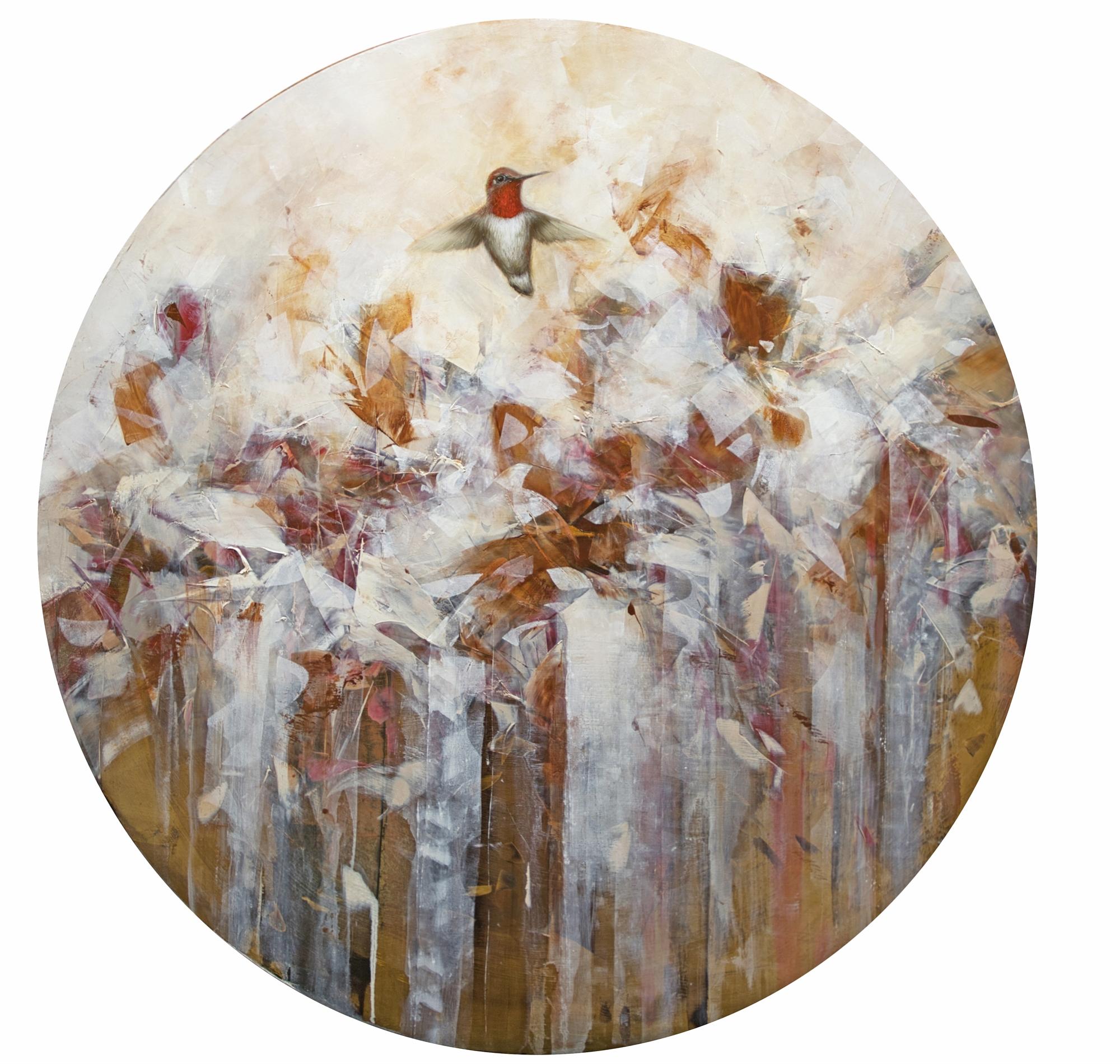 Golden Bloom II by Jessica Pisano