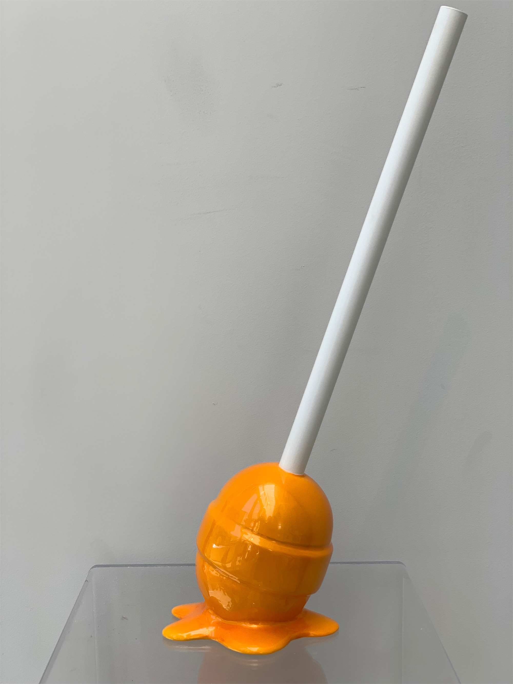 The Sweet Life Small Mango Lollipop by Elena Bulatova