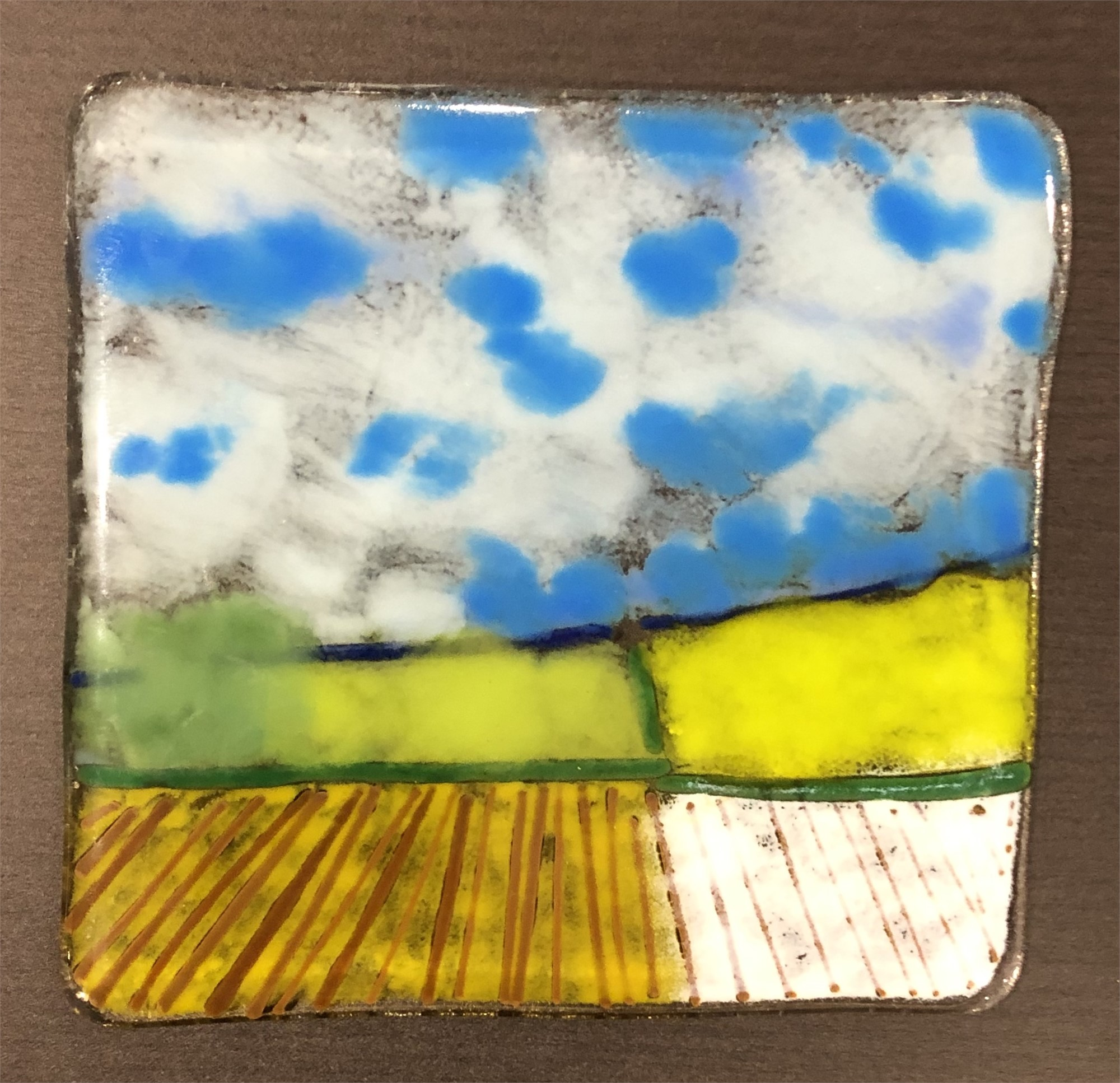 Farmlands by Mary Volm (Carlton, OR)