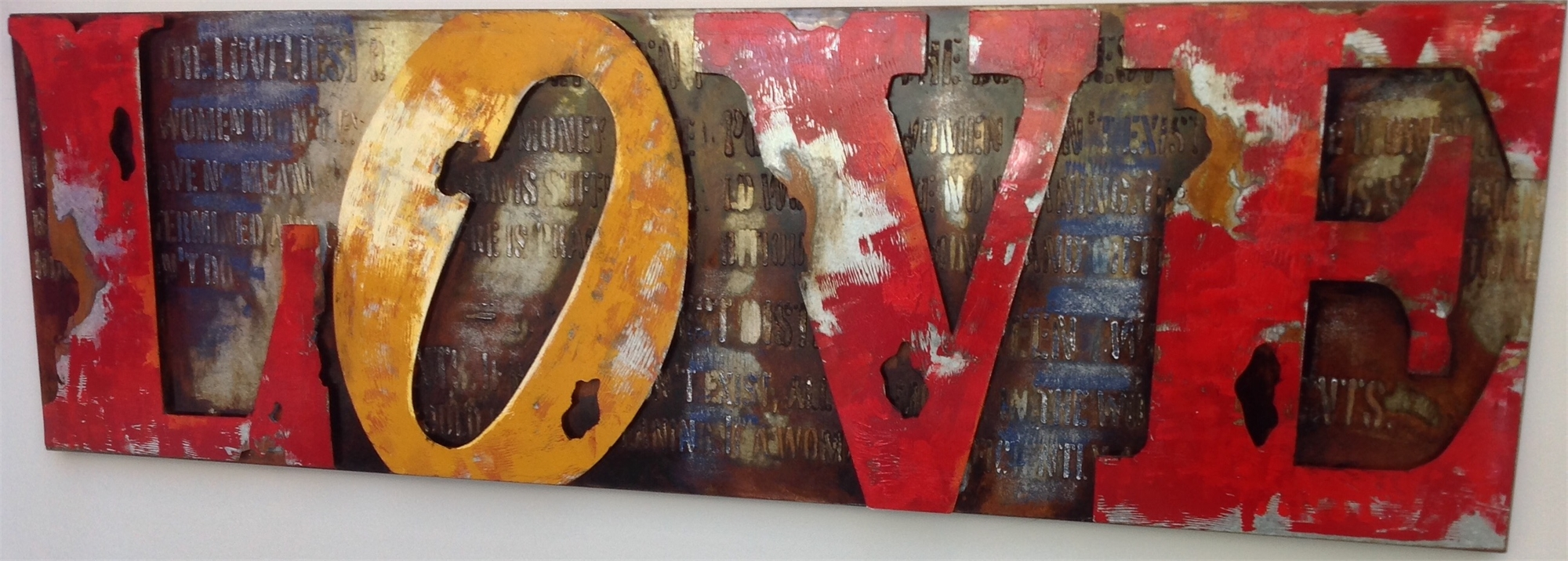 """""""LOVE"""" Sign by EB Studios"""