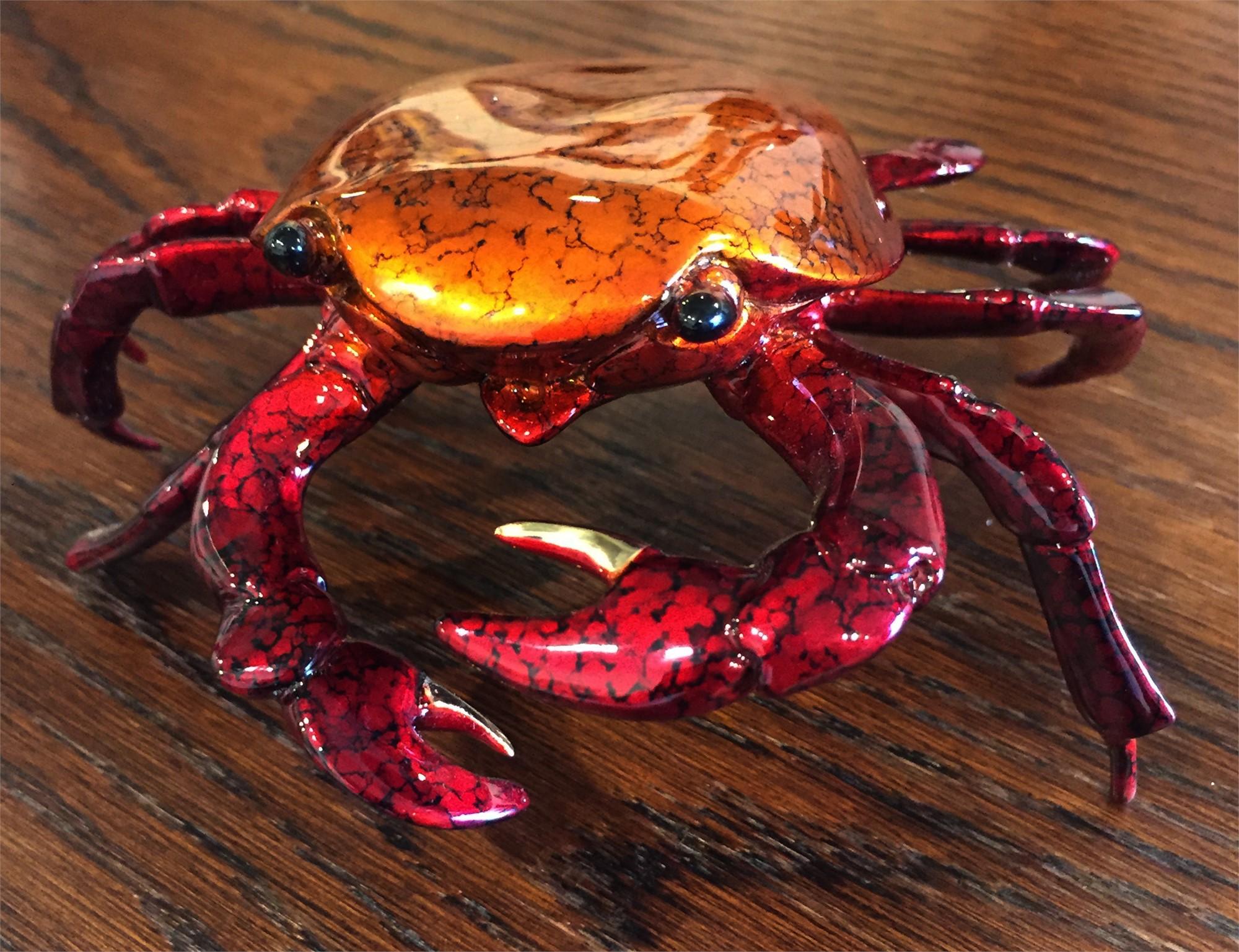 Medium Sally Lightfoot Crab by Brian Arthur