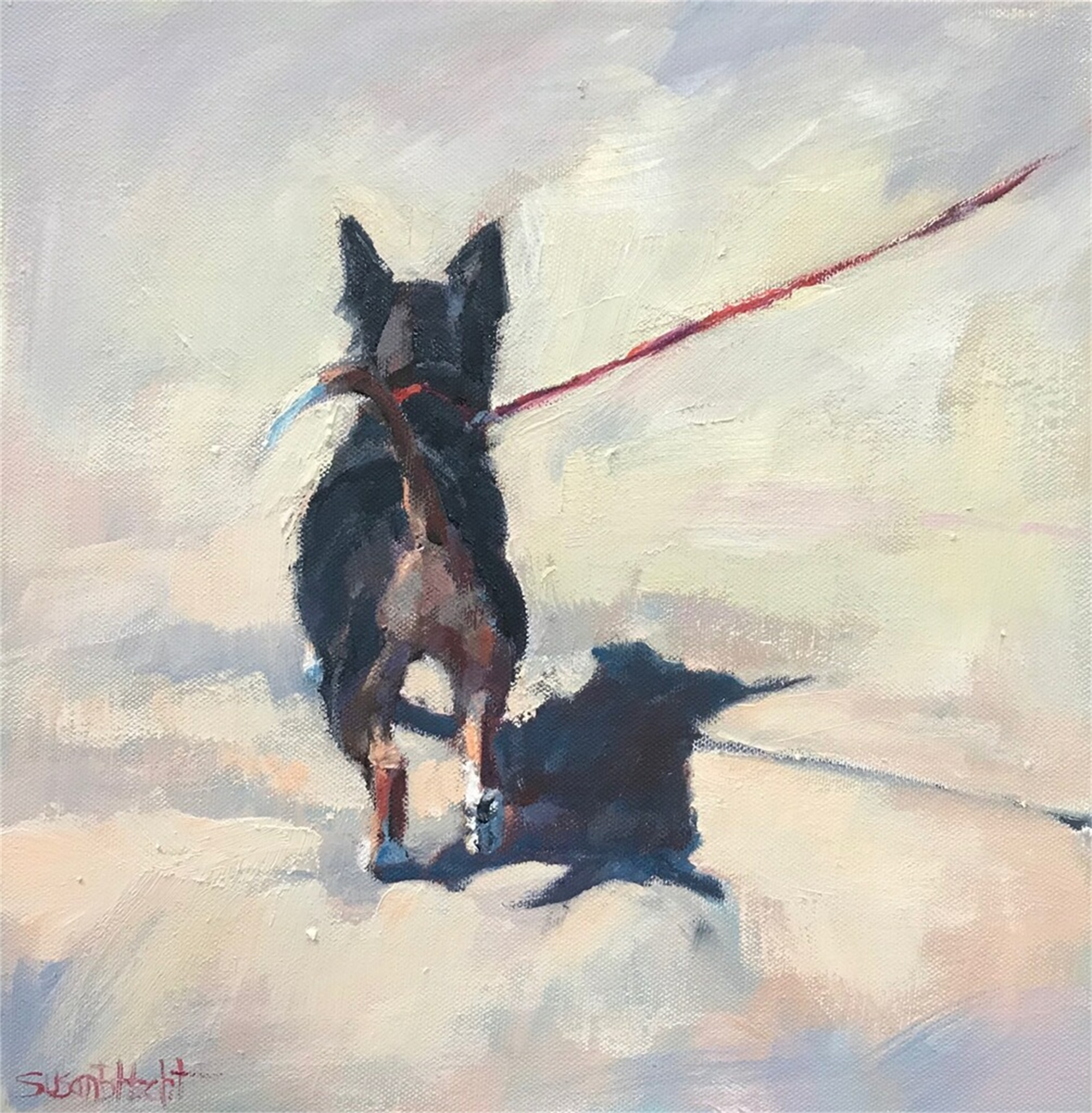 Prancing by Susan Hecht