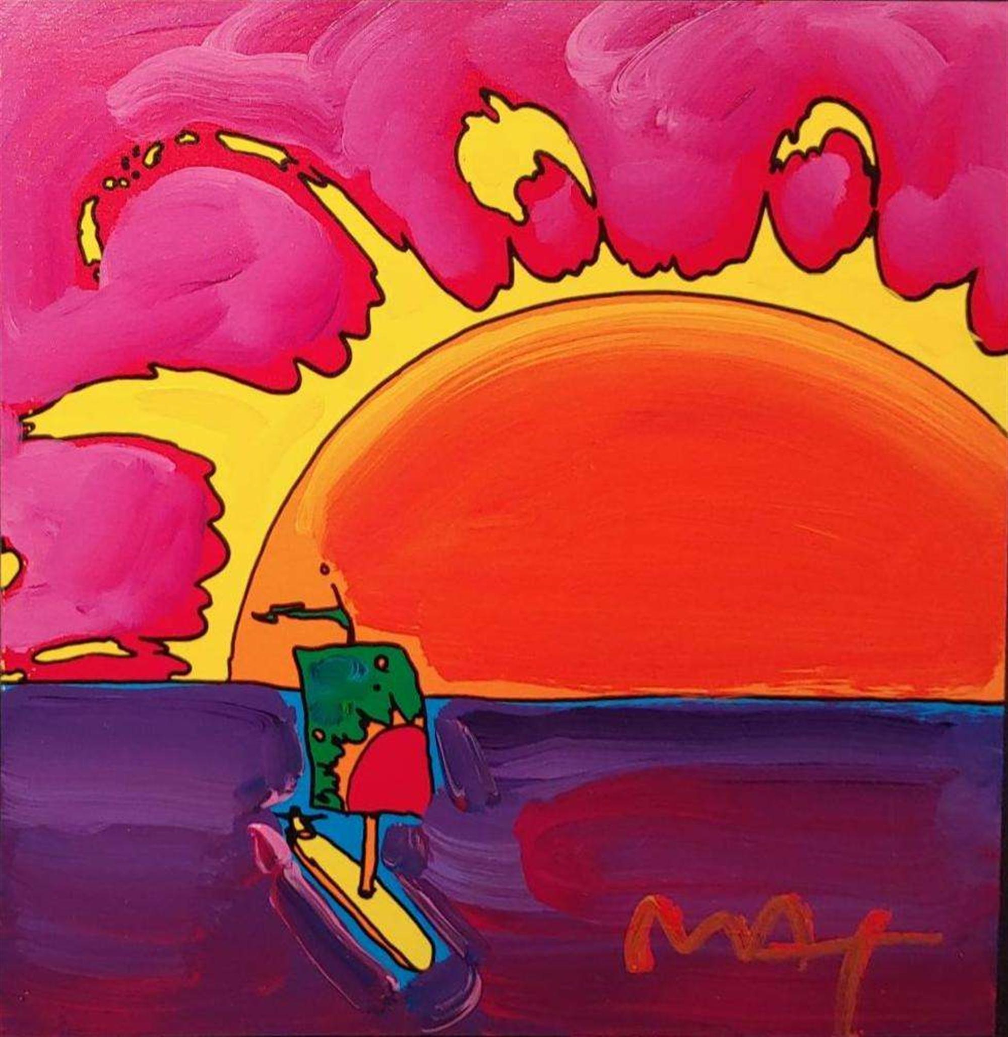 RETRO: SUNRISE SAIL by Peter Max