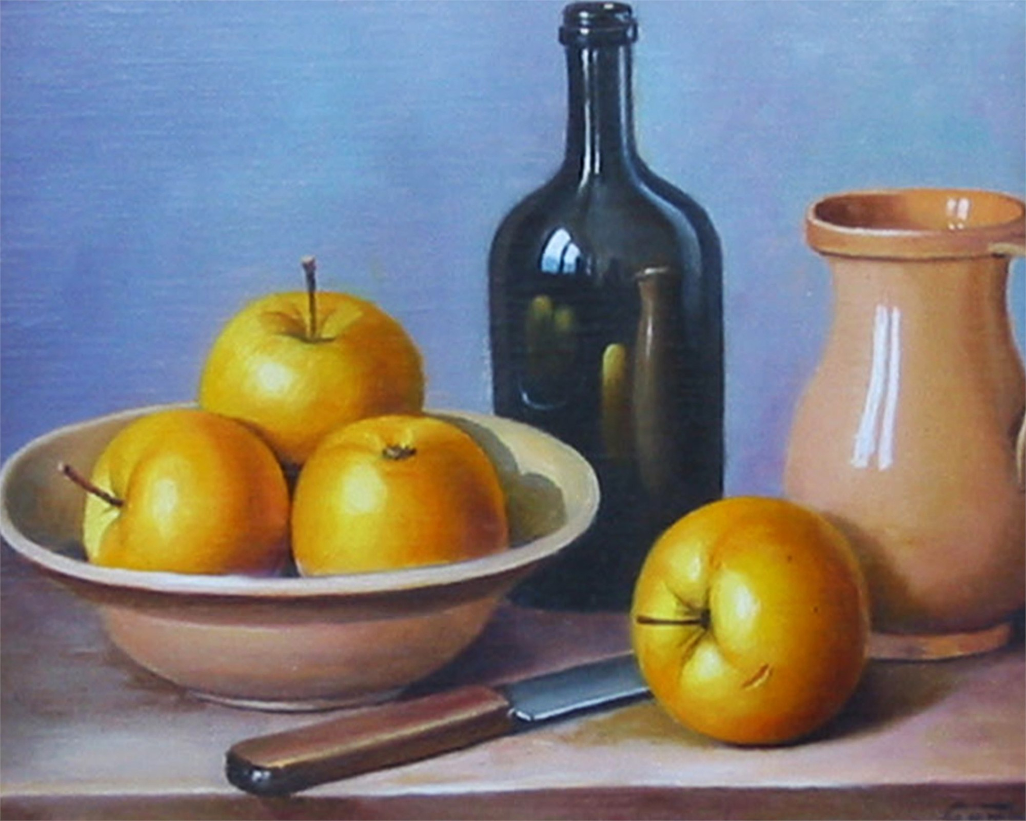 YELLOW APPLES by GOMBAR