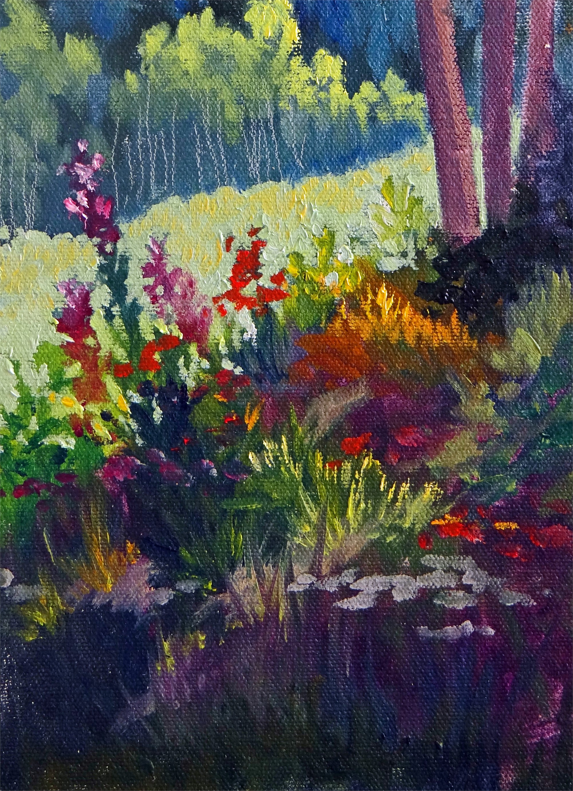 Hummingbird Garden by Nancy Paris Pruden