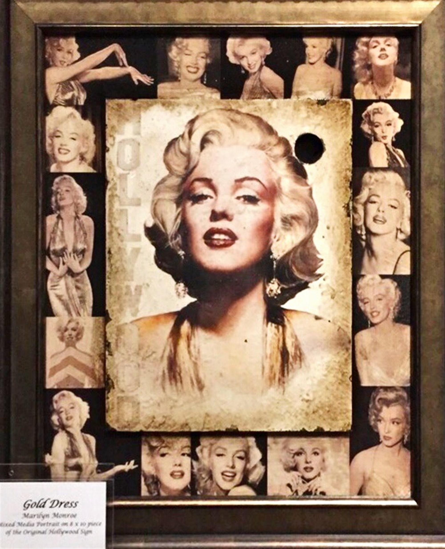 Golden Marilyn Variant by Bill Mack