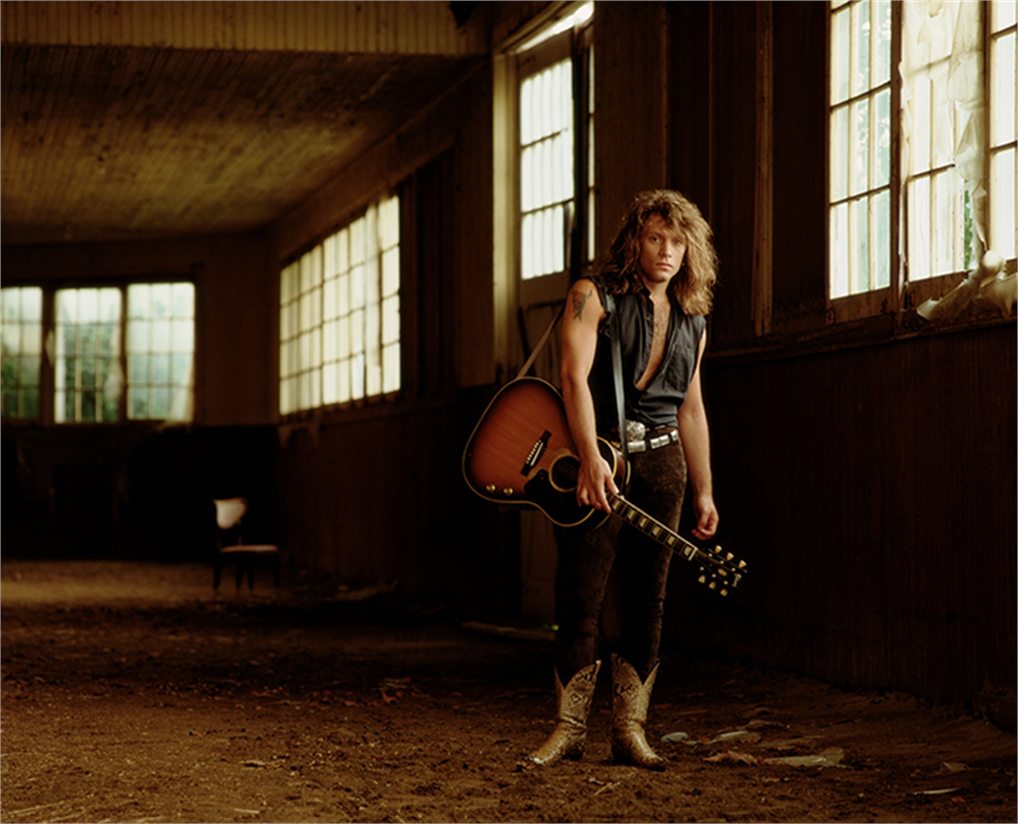 90085 Jon Bon Jovi in the Barn Color by Timothy White