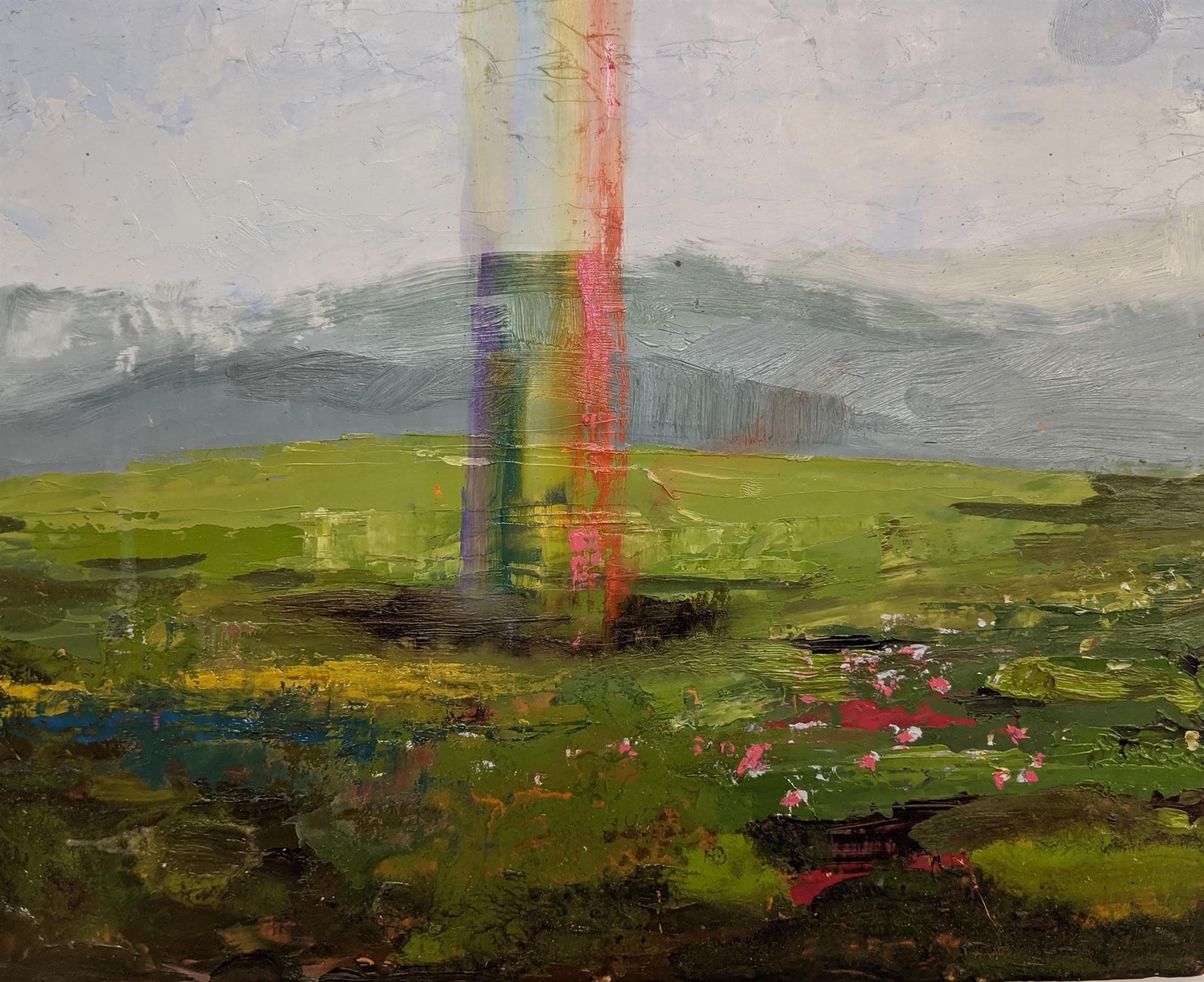 Rainbow Hole II by Caitlin Hurd