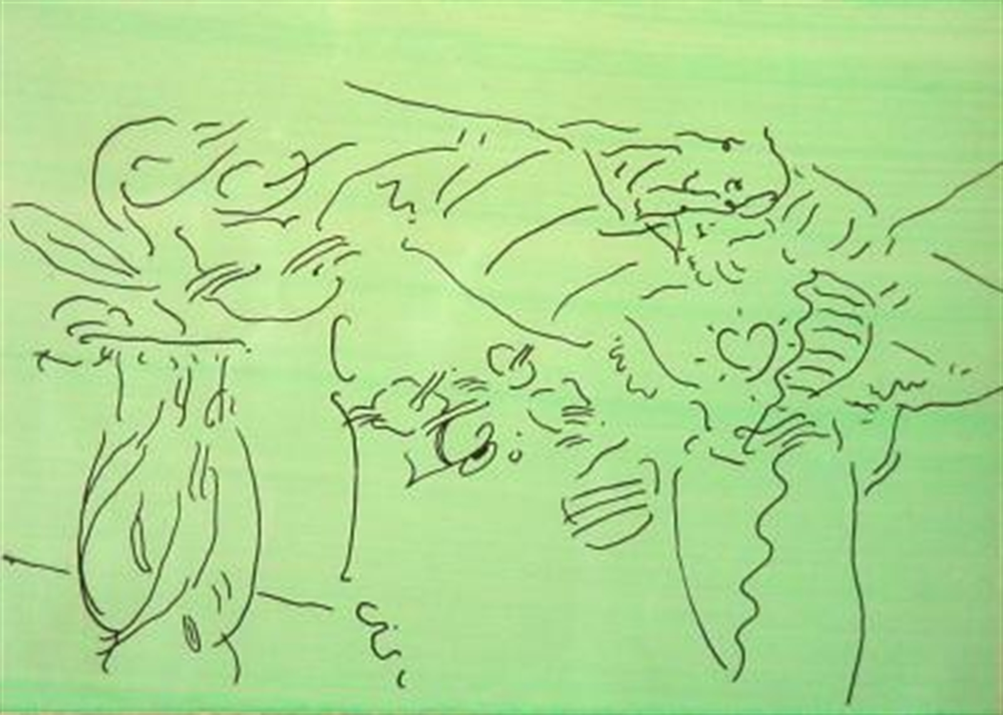Angels 6 (Suite of Six) by Peter Max