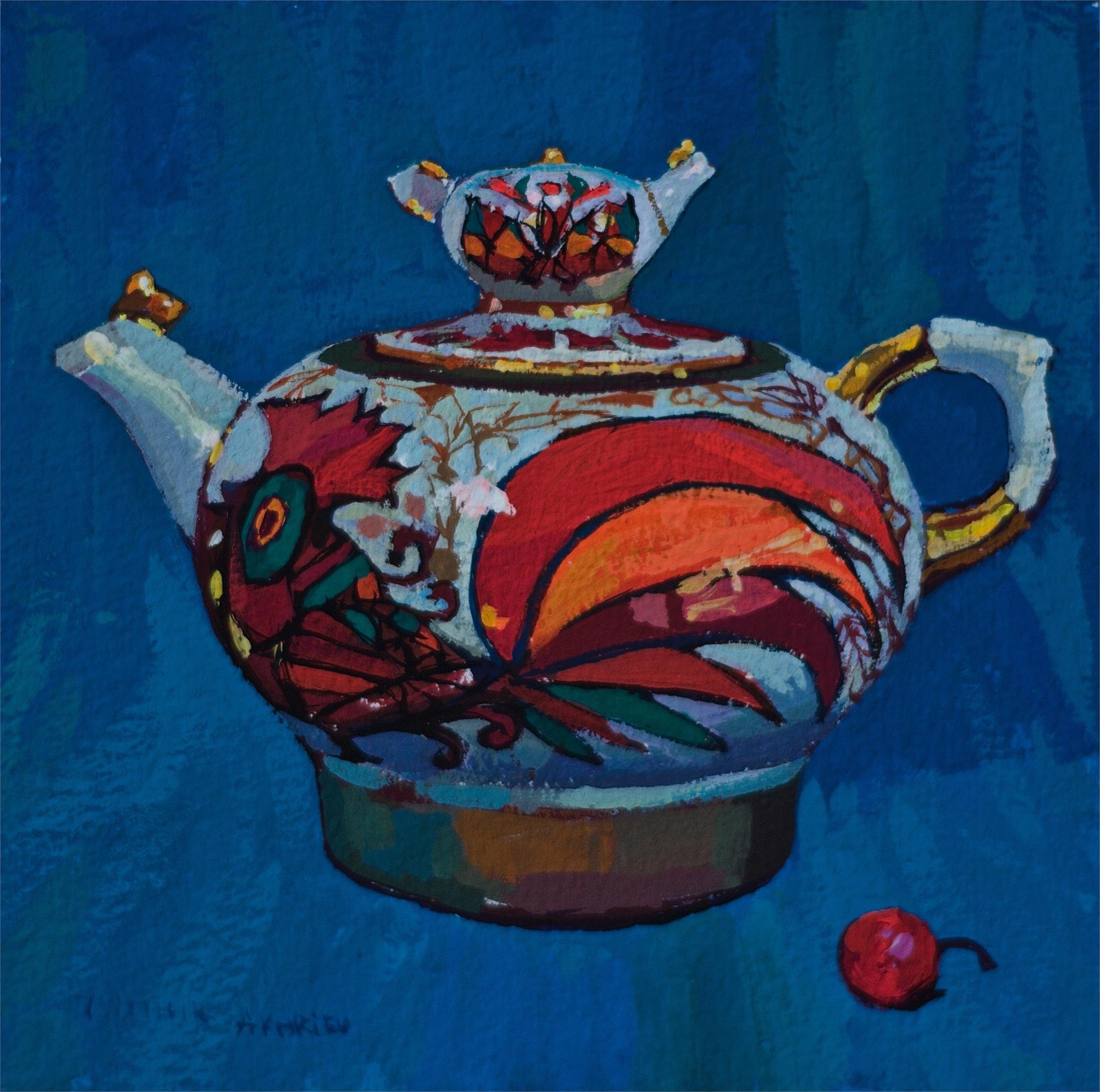 Russian Teapot by Timur Akhriev