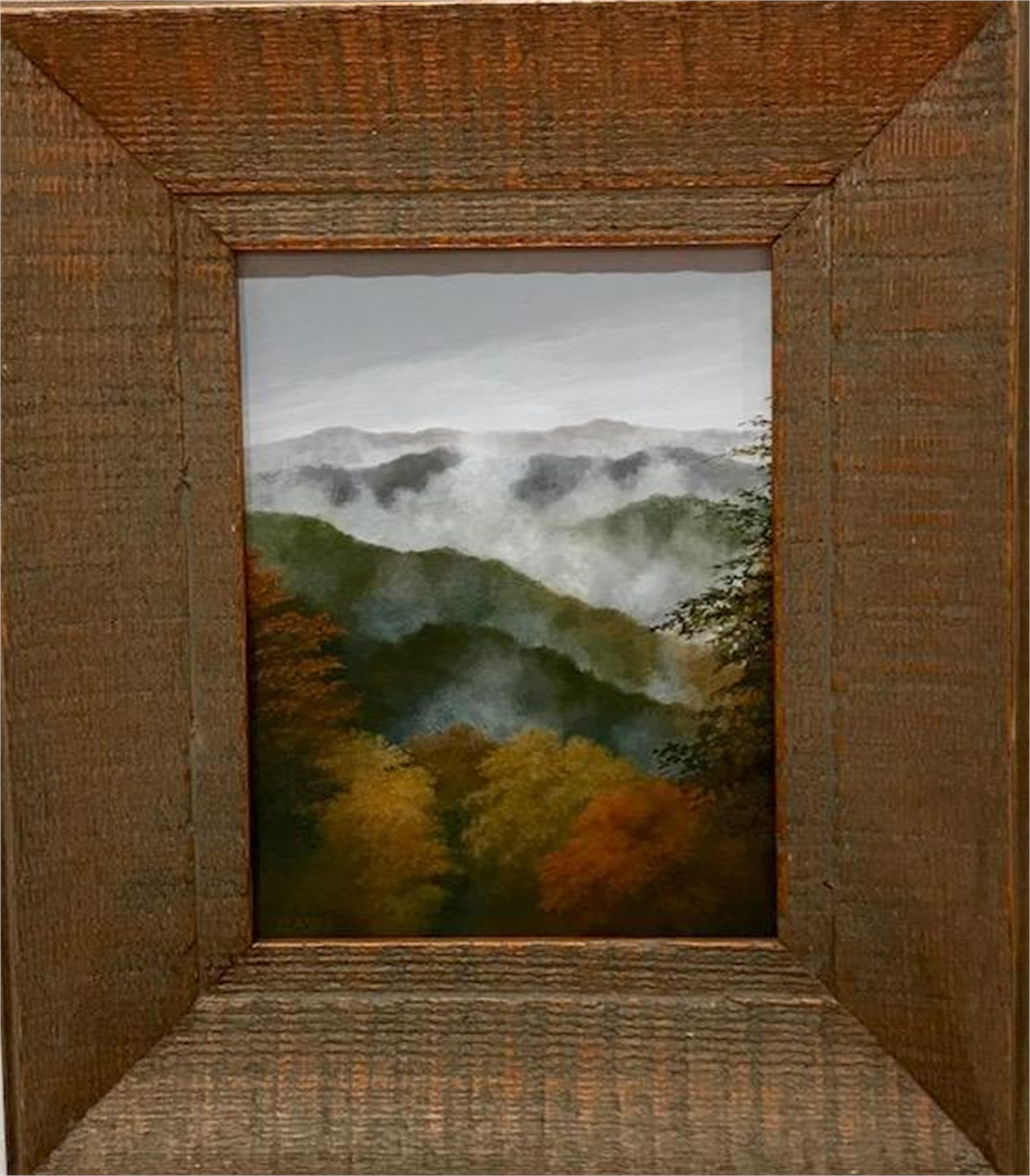Overlook - Miniature Painting by Judith Edgington Bayes