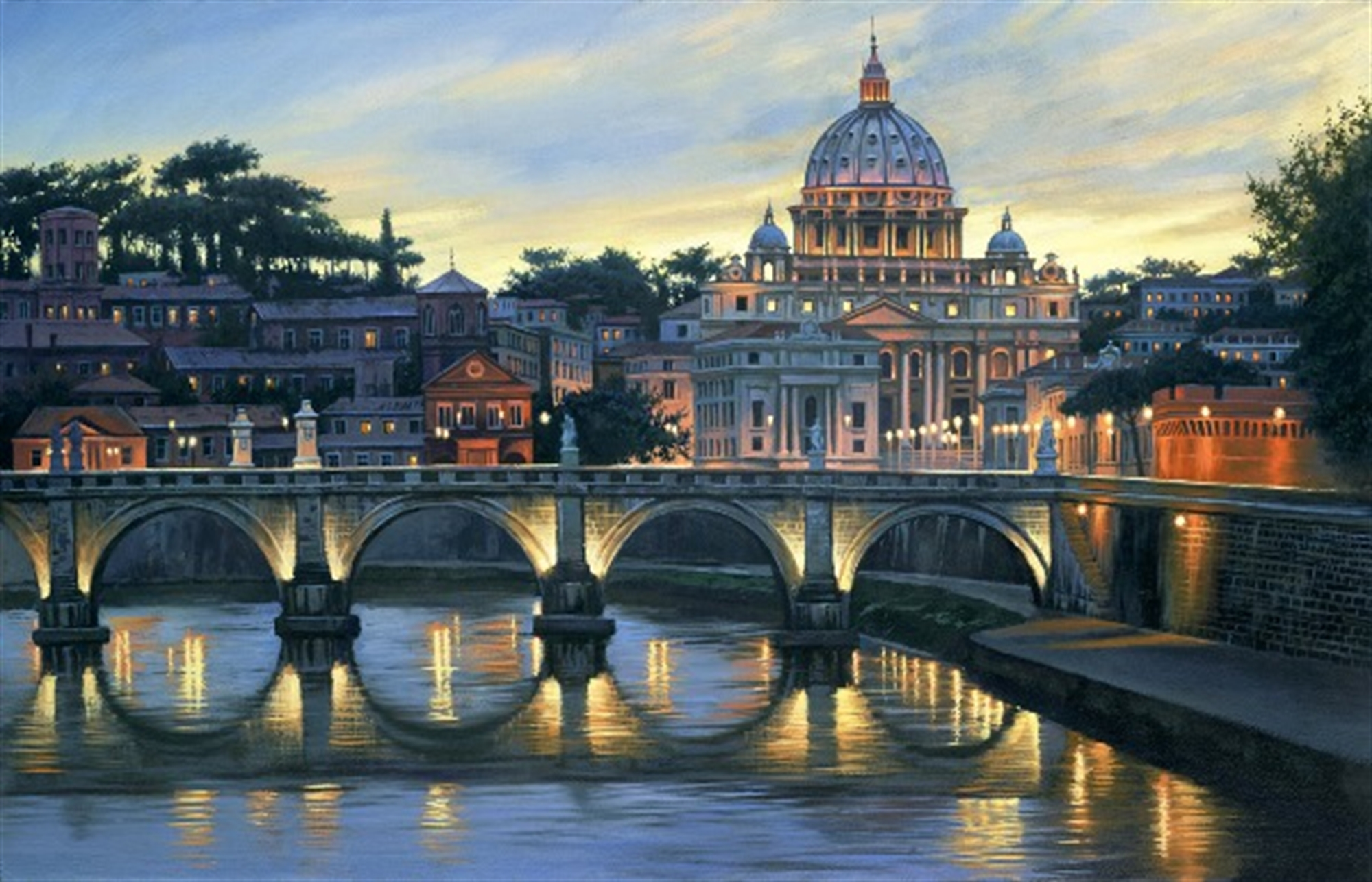 An Evening in Rome by Alexei Butirskiy
