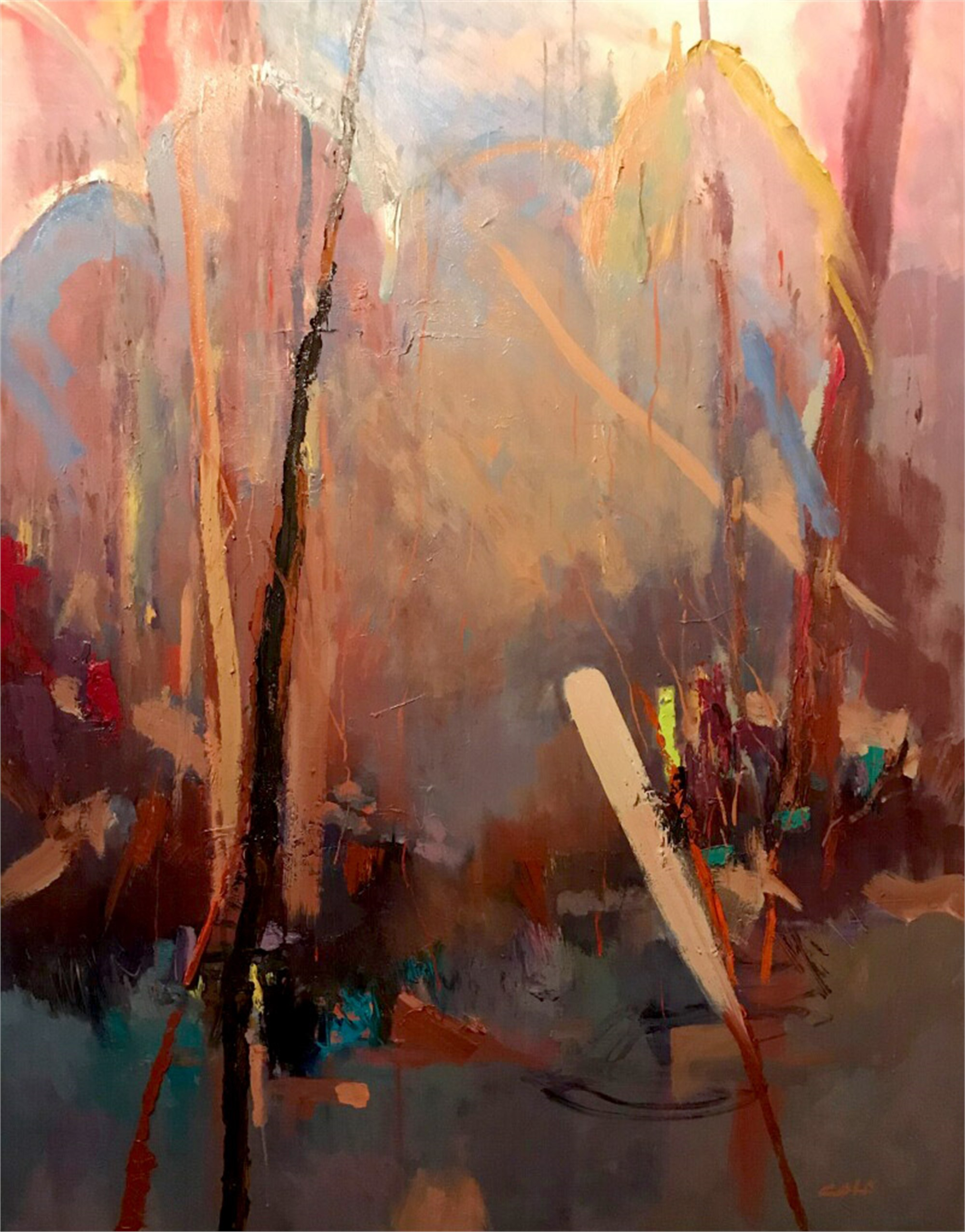 Woodland Cathedral Series I by James Calk