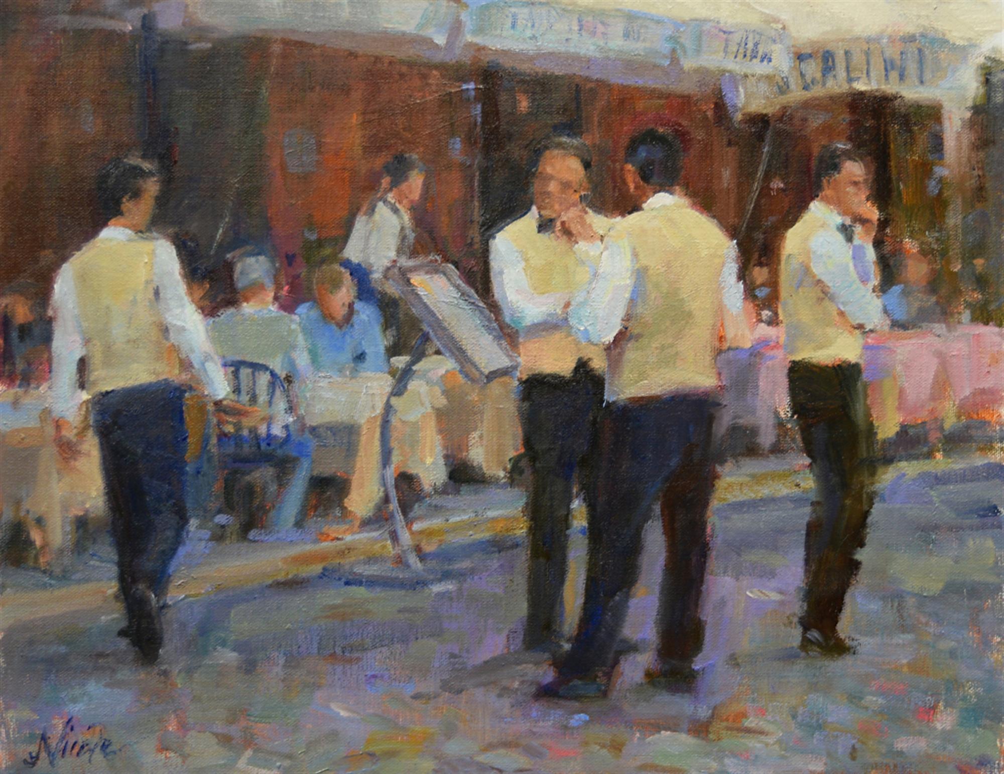 Cammerieri di Roma (Roman Waiters) by Nicole White Kennedy