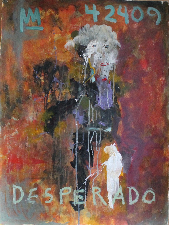 Desperado in a Purple Shirt by Michael Snodgrass