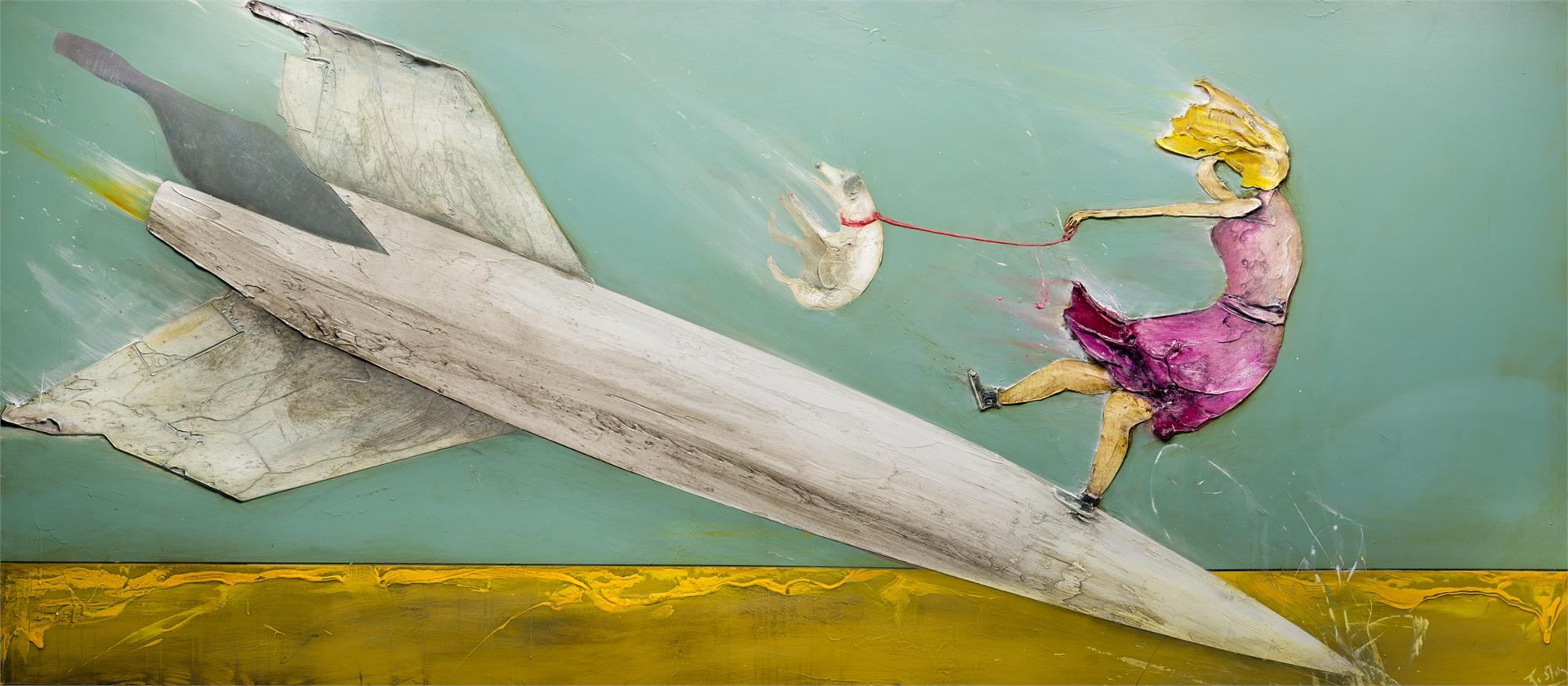 ROCKET LADY by JUSTIN GAFFREY