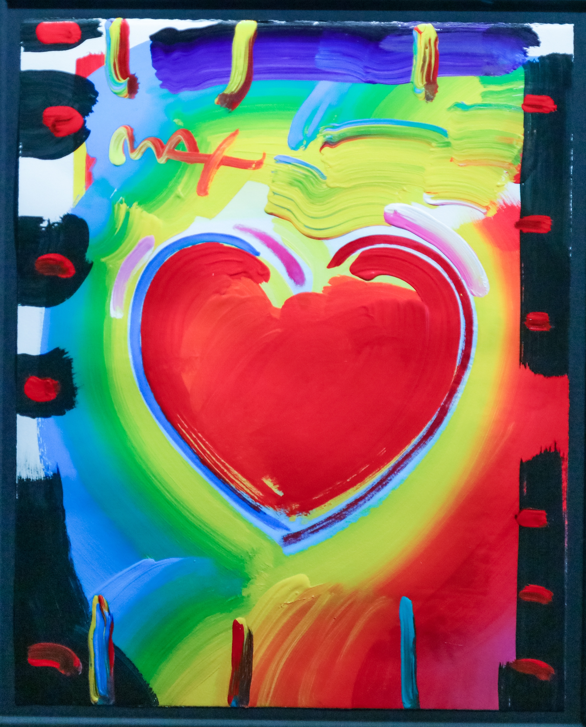Heart Series by Peter Max
