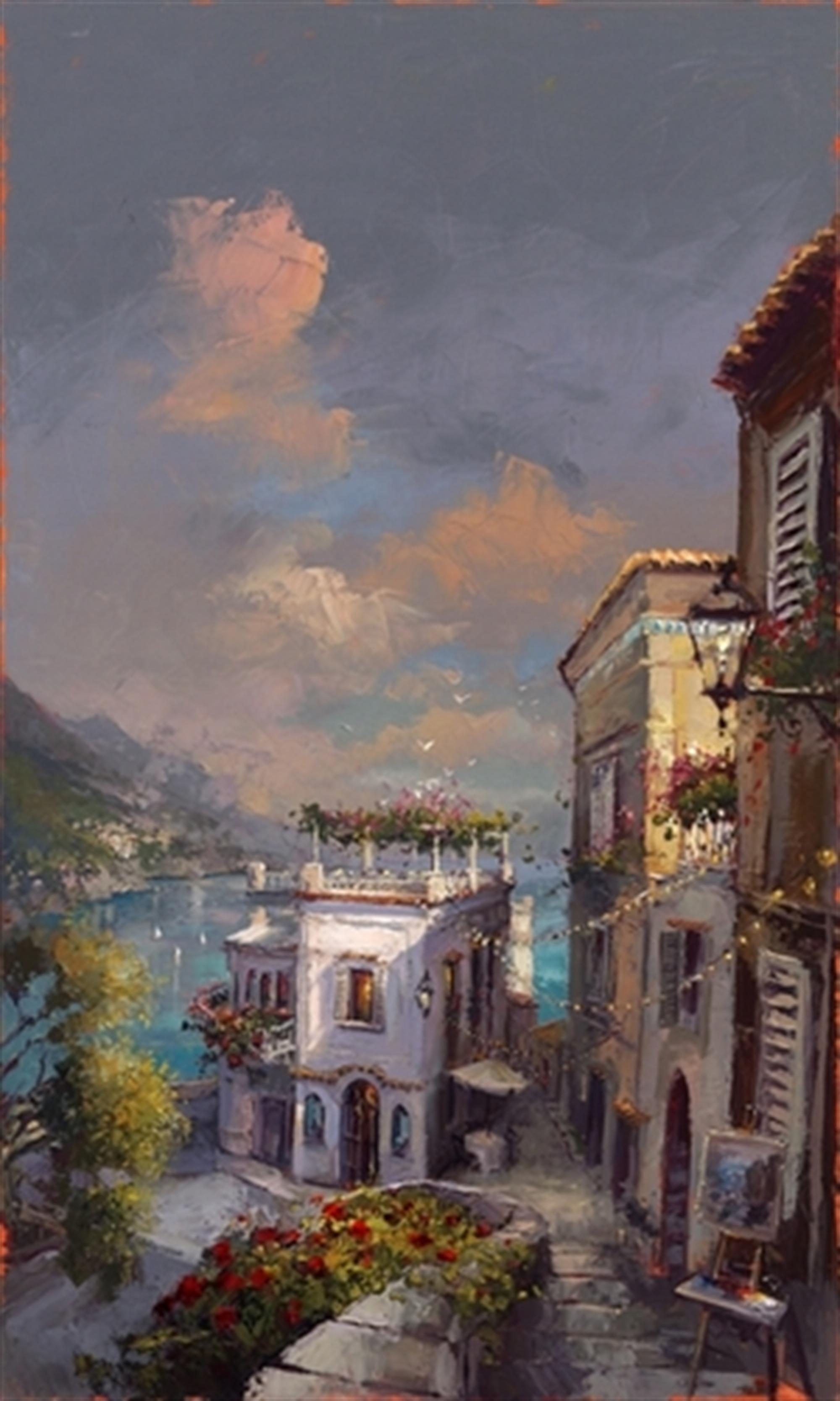 Amalfi Daybreak by Steven Quartly
