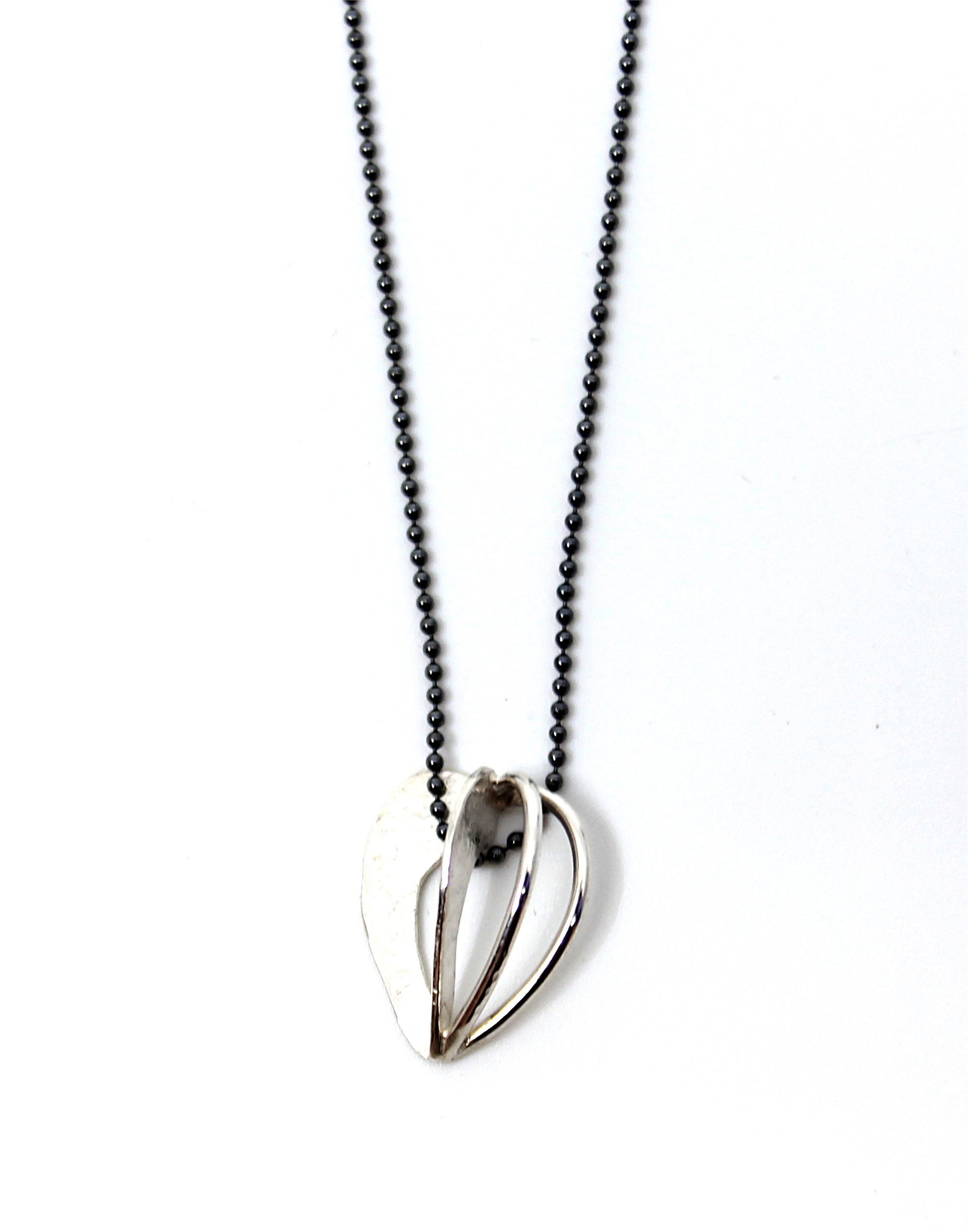 Small Moon Pod Necklace by Leia Zumbro