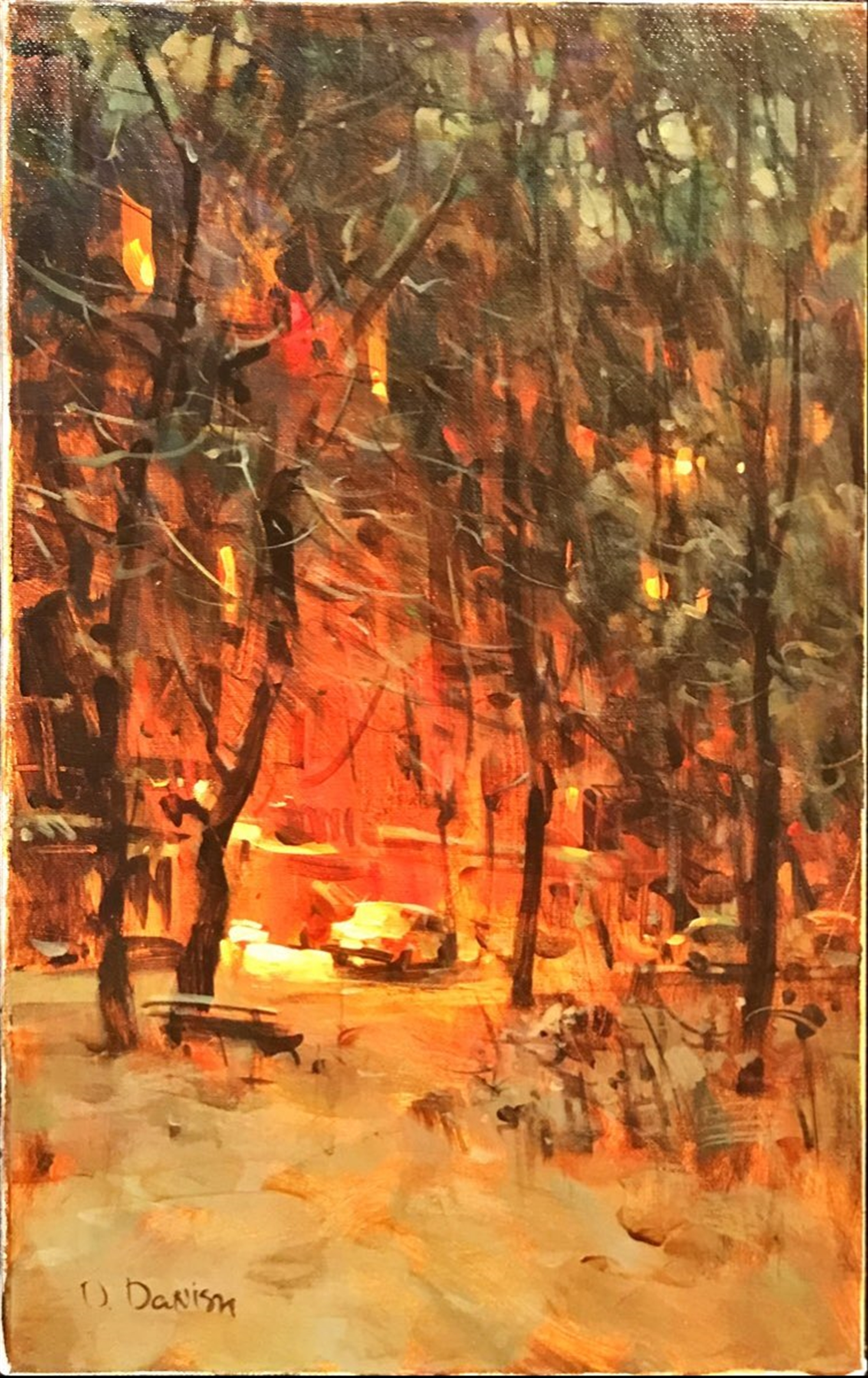 Winter Yard by Dmitri Danish