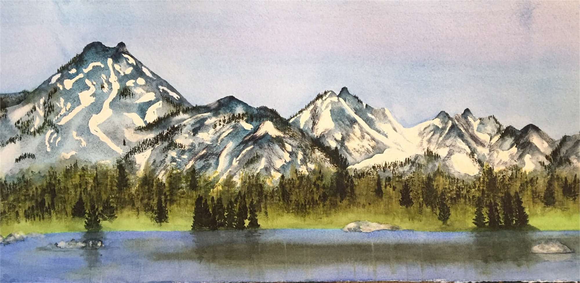 A View from Anothony Lake by Kate Nilan (Portland, OR)